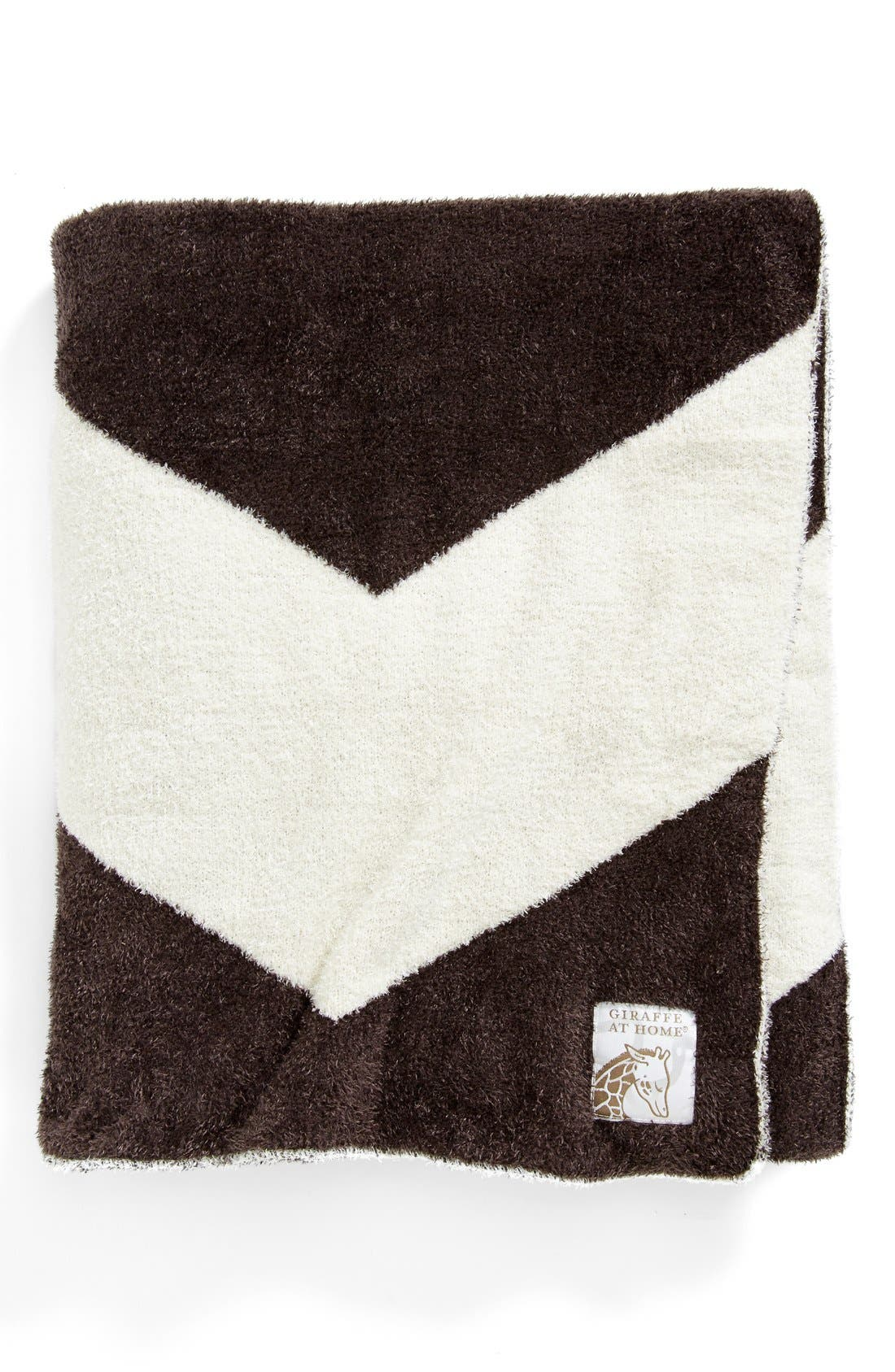 Main Image - Giraffe at Home 'Dolce Chevron' Throw