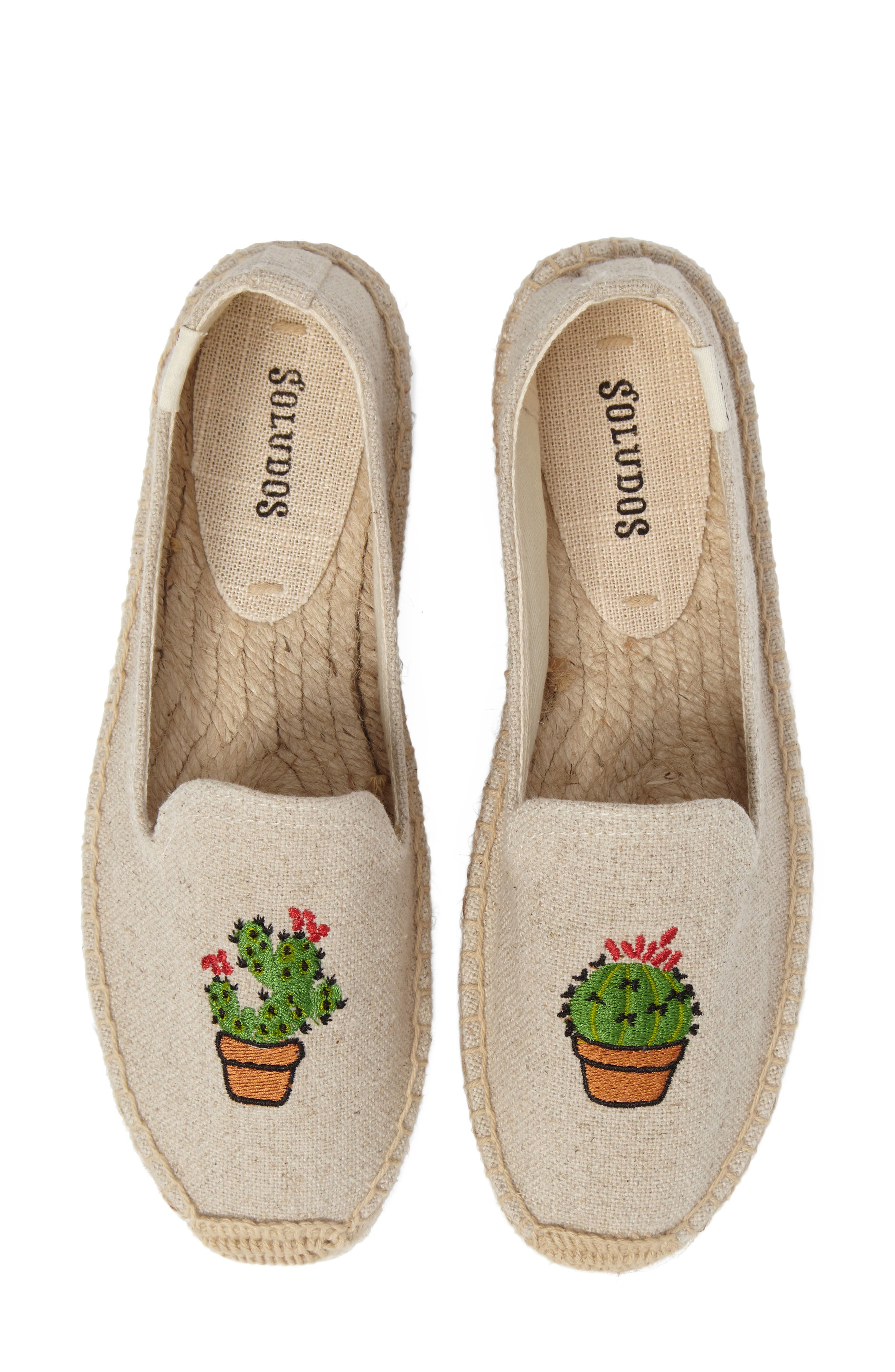 Alternate Image 1 Selected - Soludus Cactus Platform Espadrille (Women)