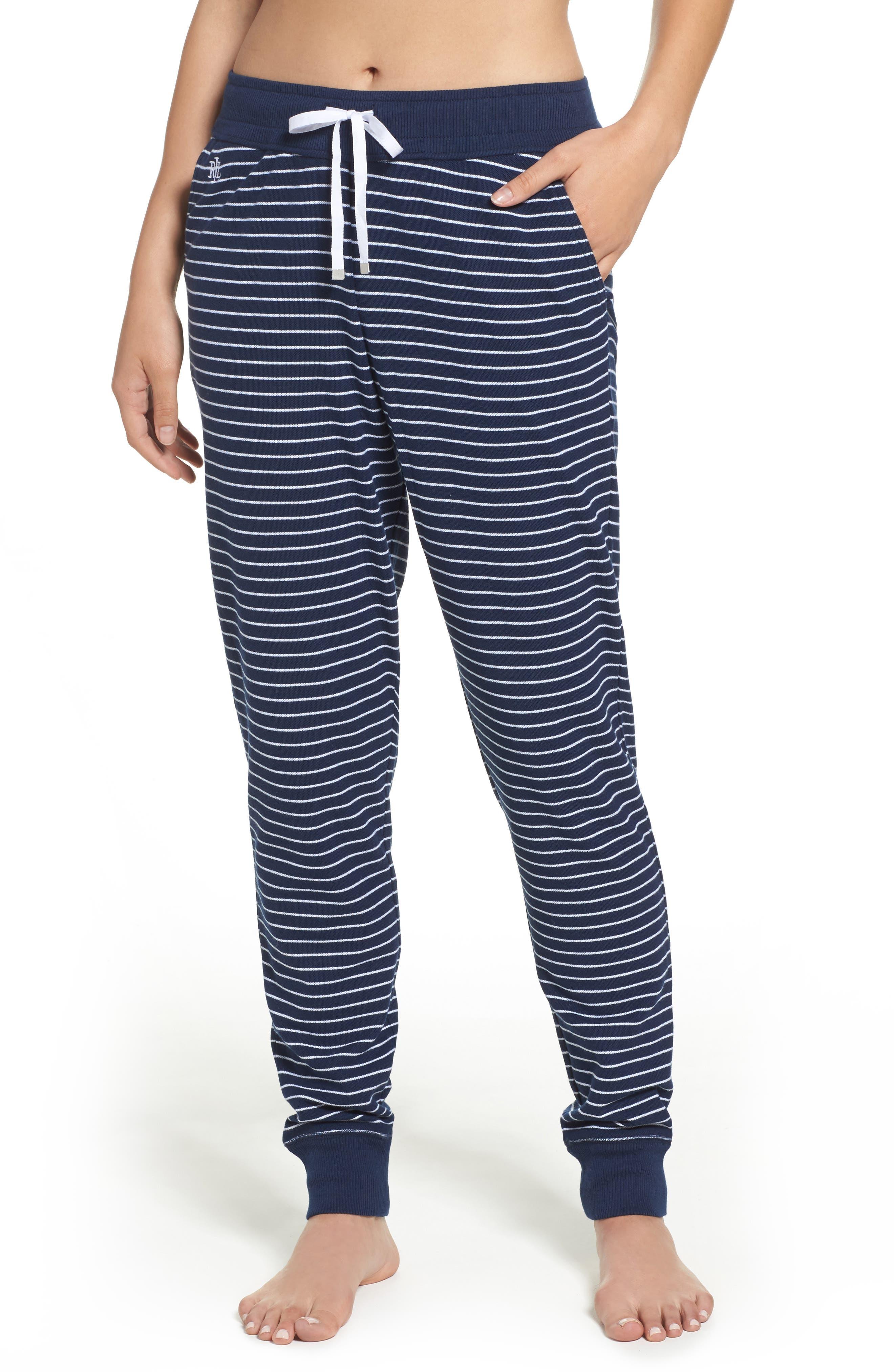 Lauren Ralph Lauren Stripe Jogger Pants