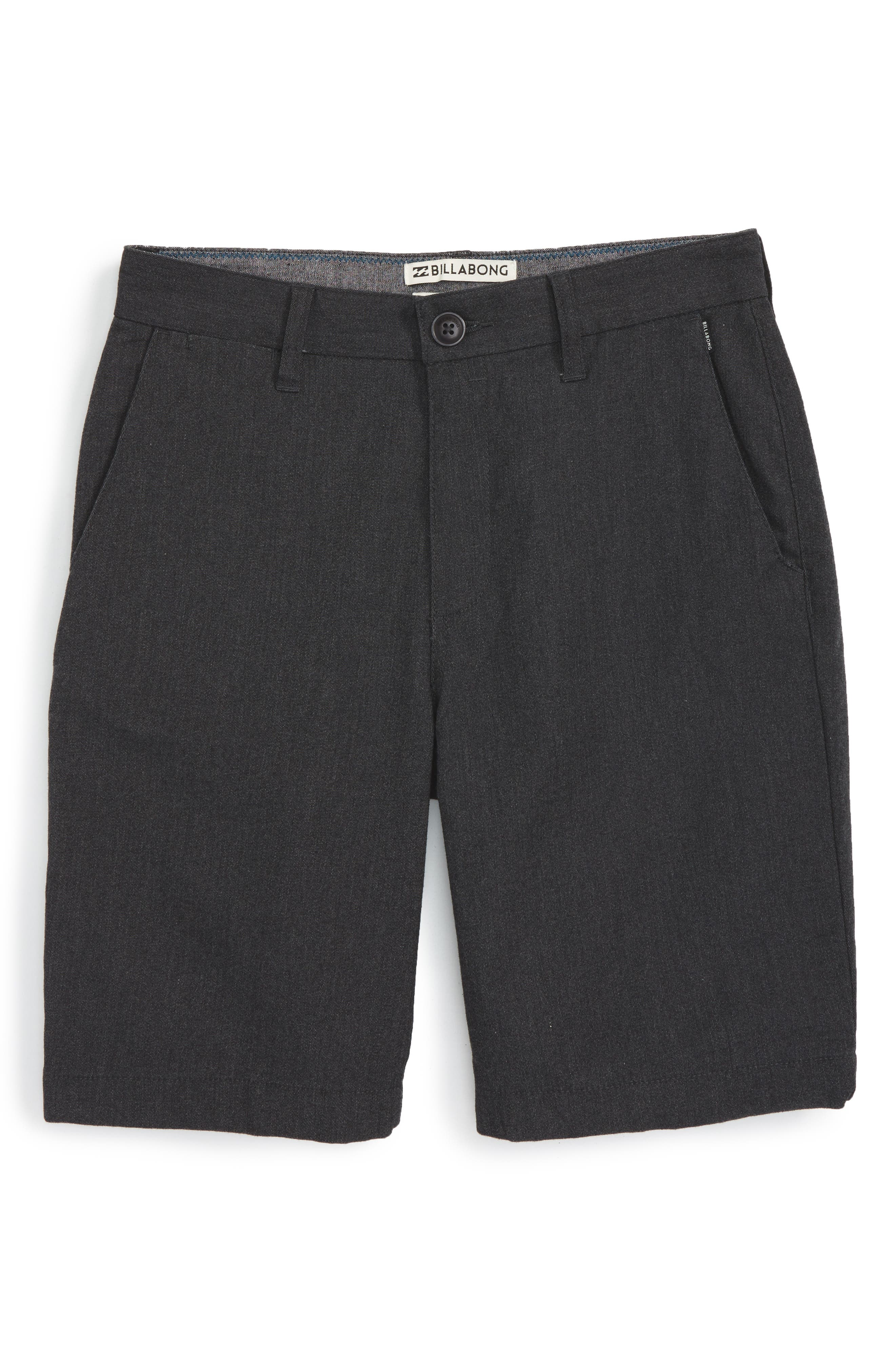 Billabong 'Carter' Cotton Twill Shorts (Big Boys)