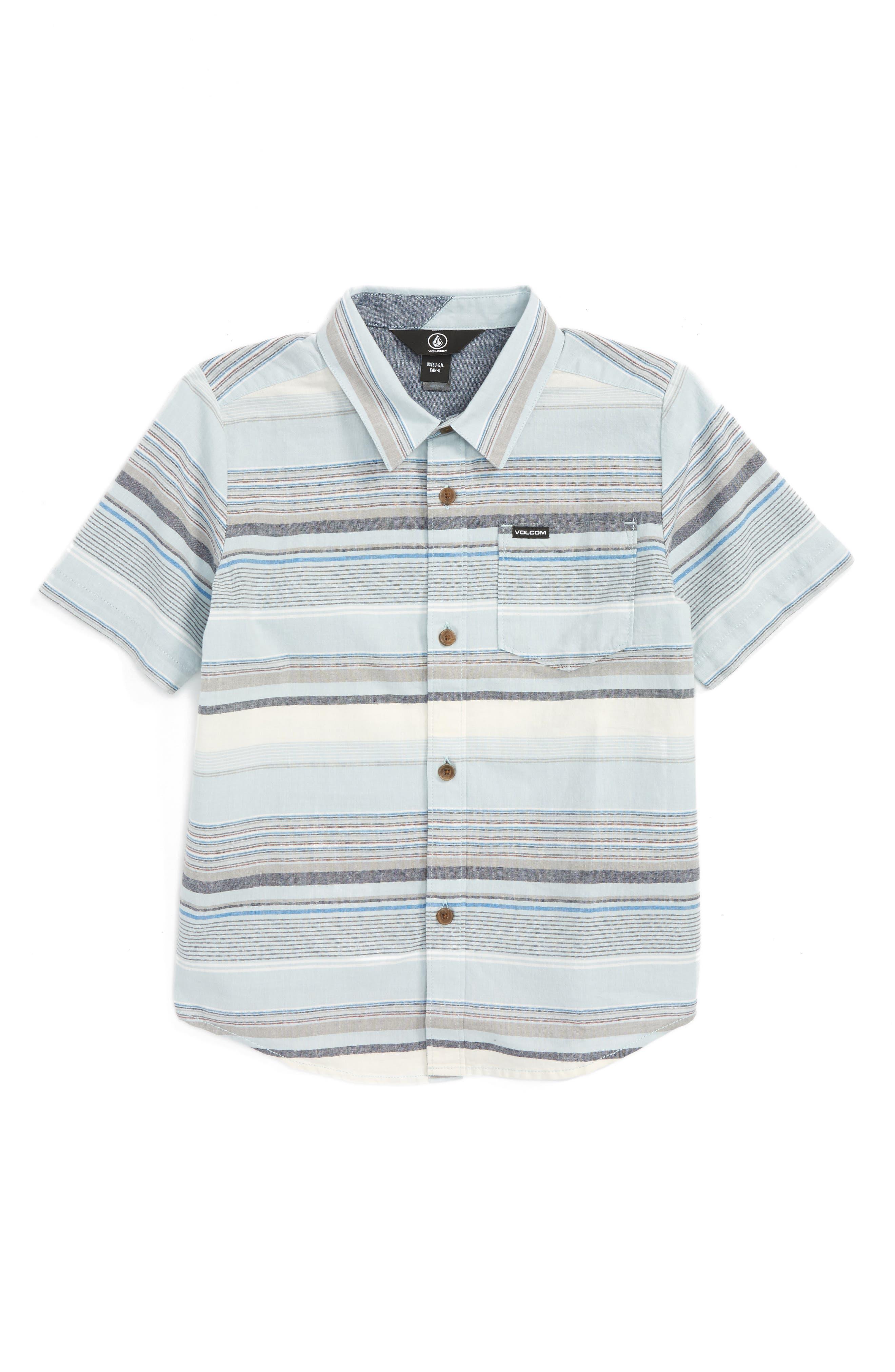 Volcom Rambler Woven Shirt (Toddler Boys & Little Boys)