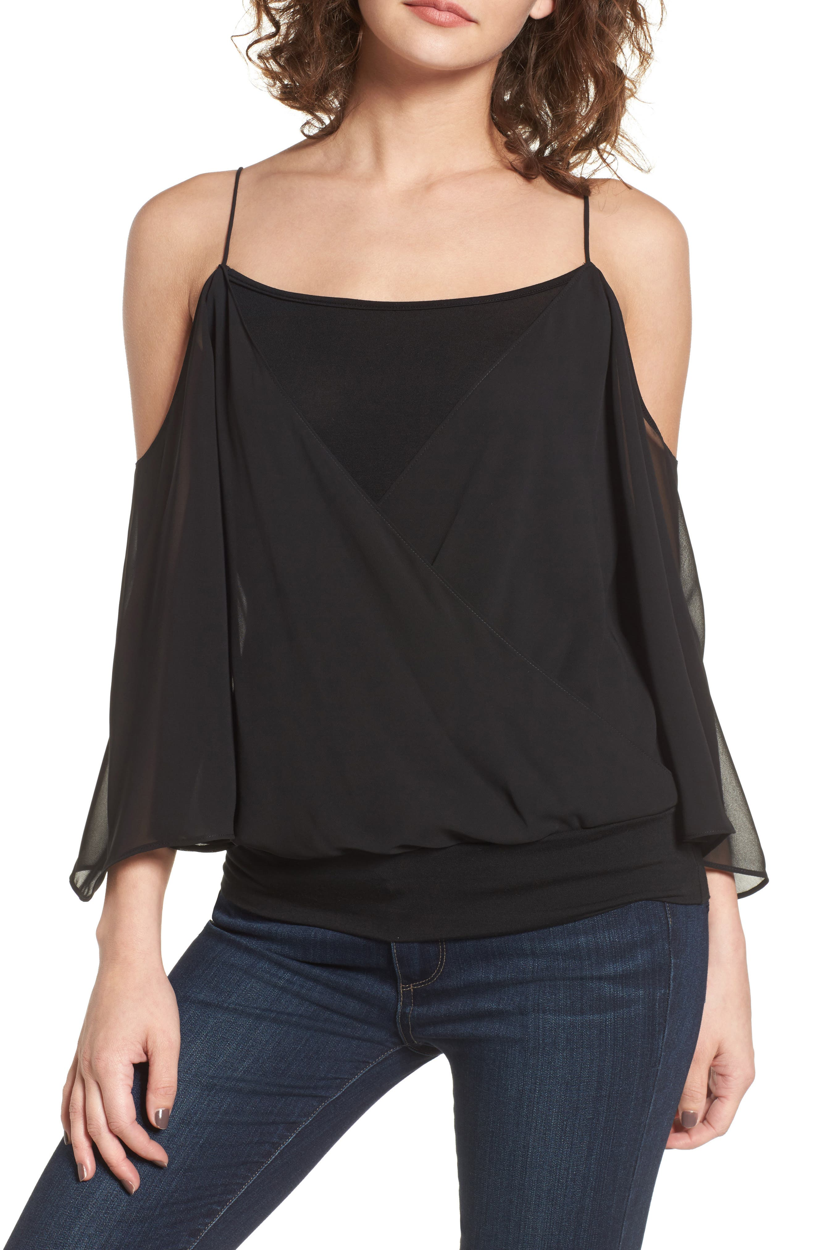 Bailey 44 Tombe Cold Shoulder Top