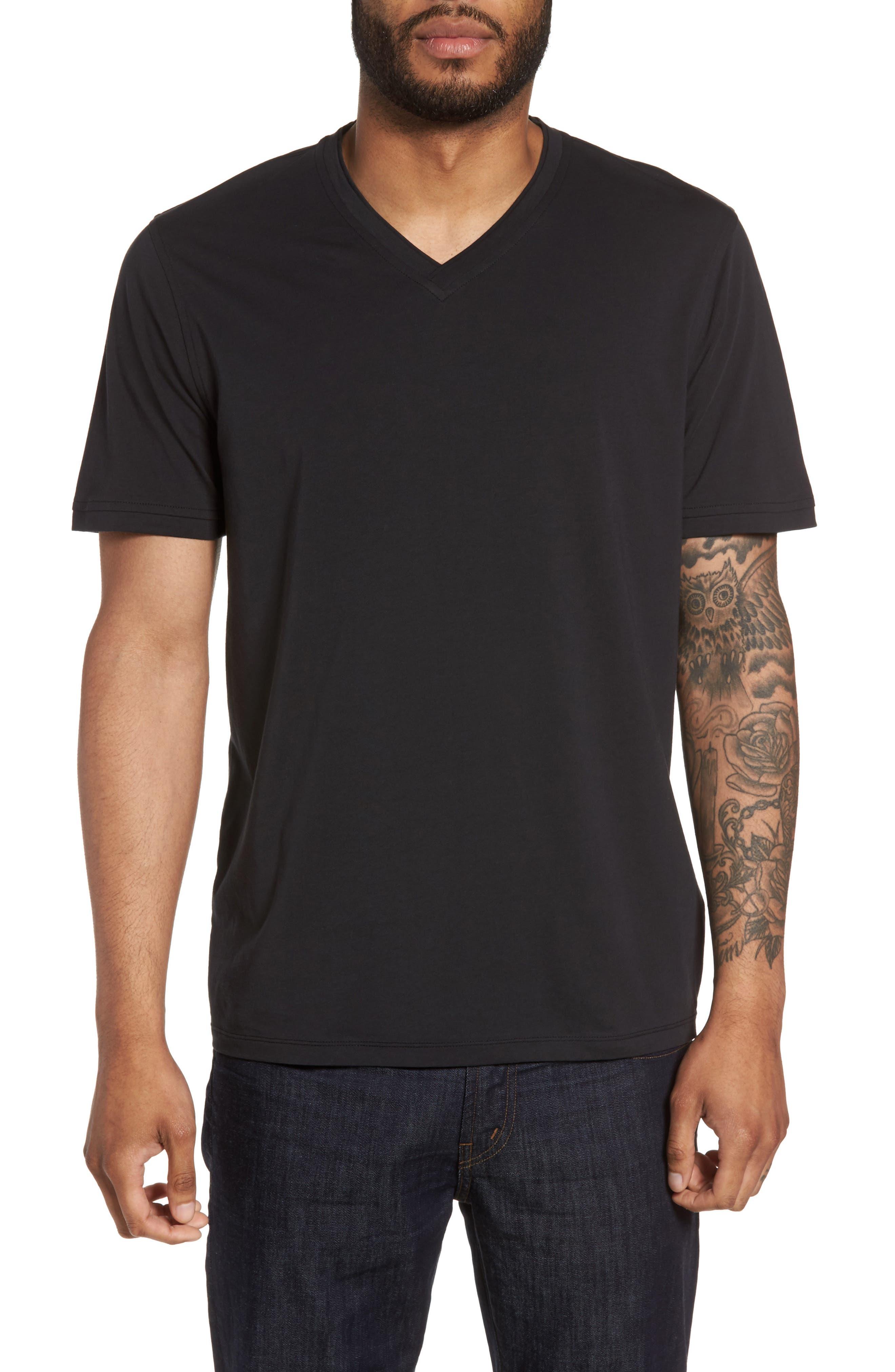 Calibrate Trim Fit V-Neck T-Shirt