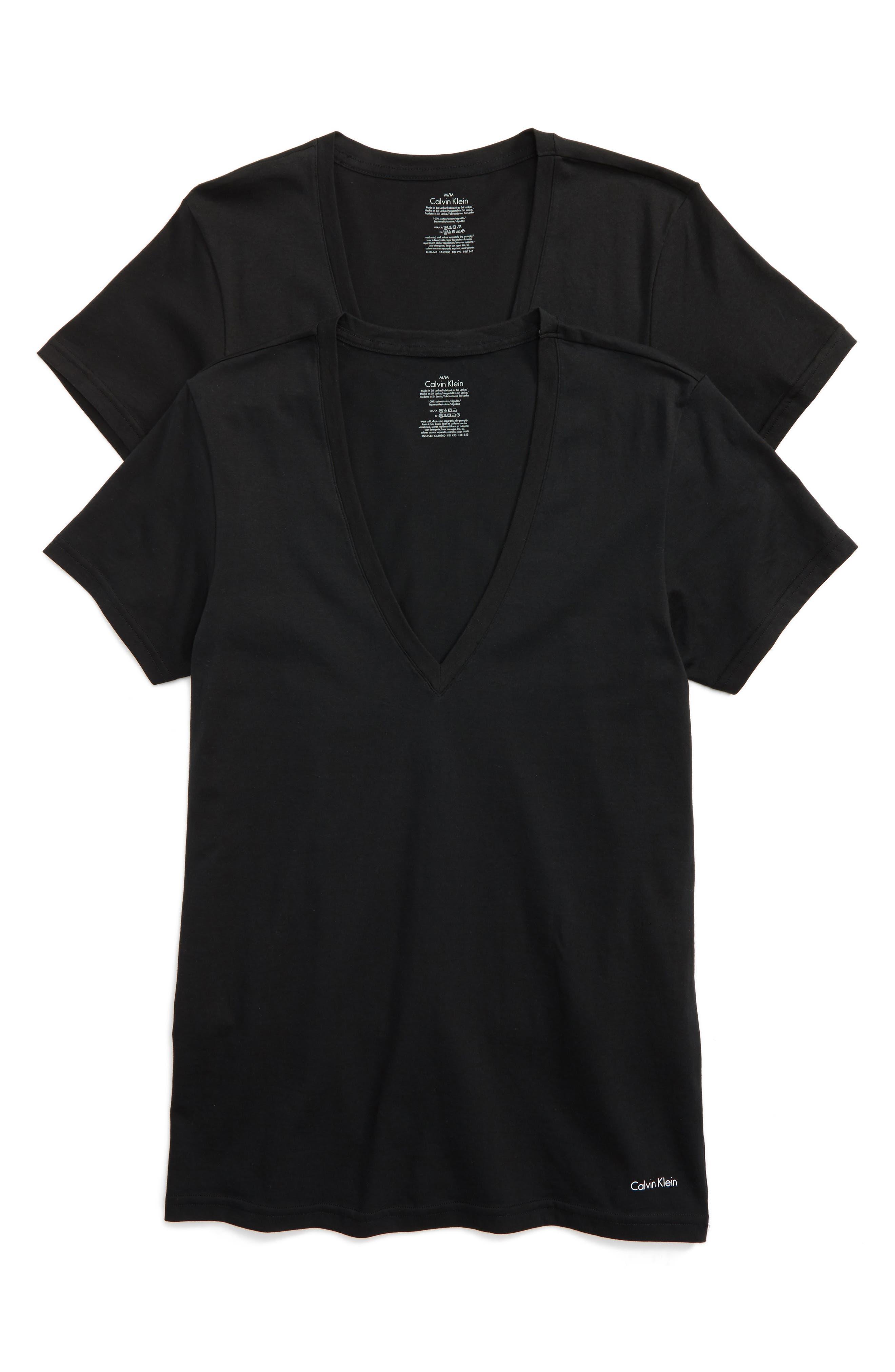 Calvin Klein 2-Pack V-Neck T-Shirt