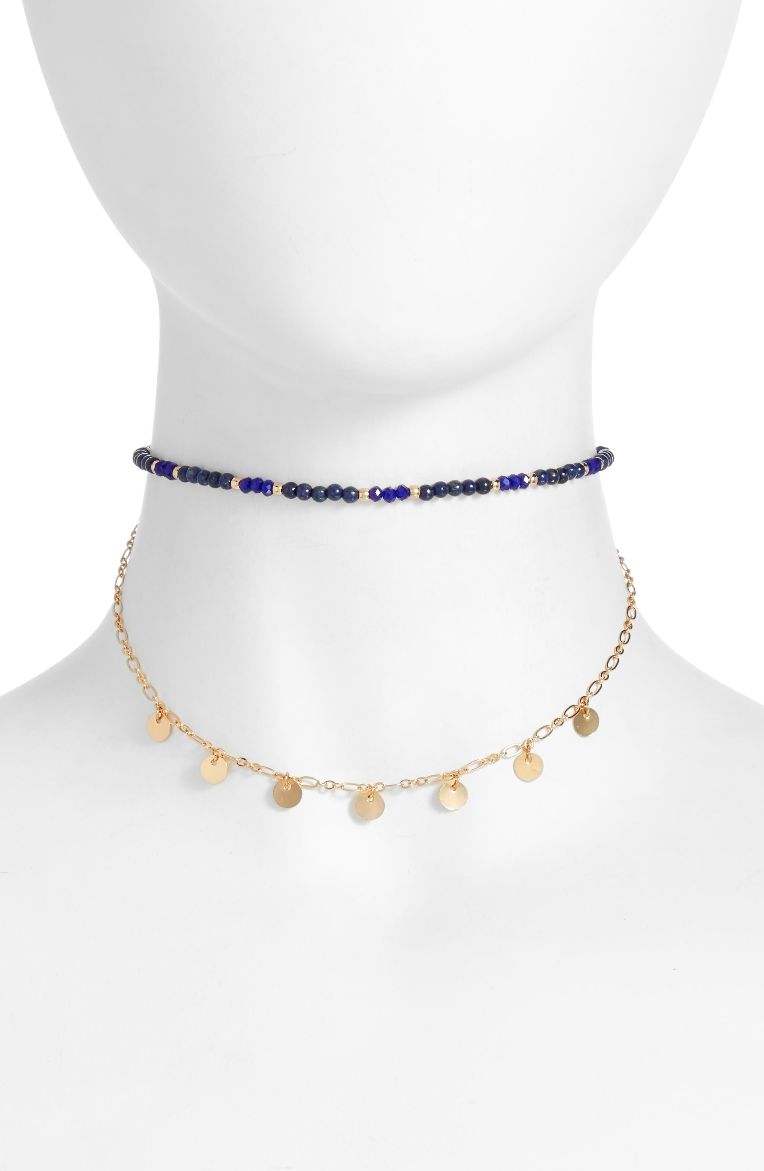 Ettika Beaded Multistrand Choker