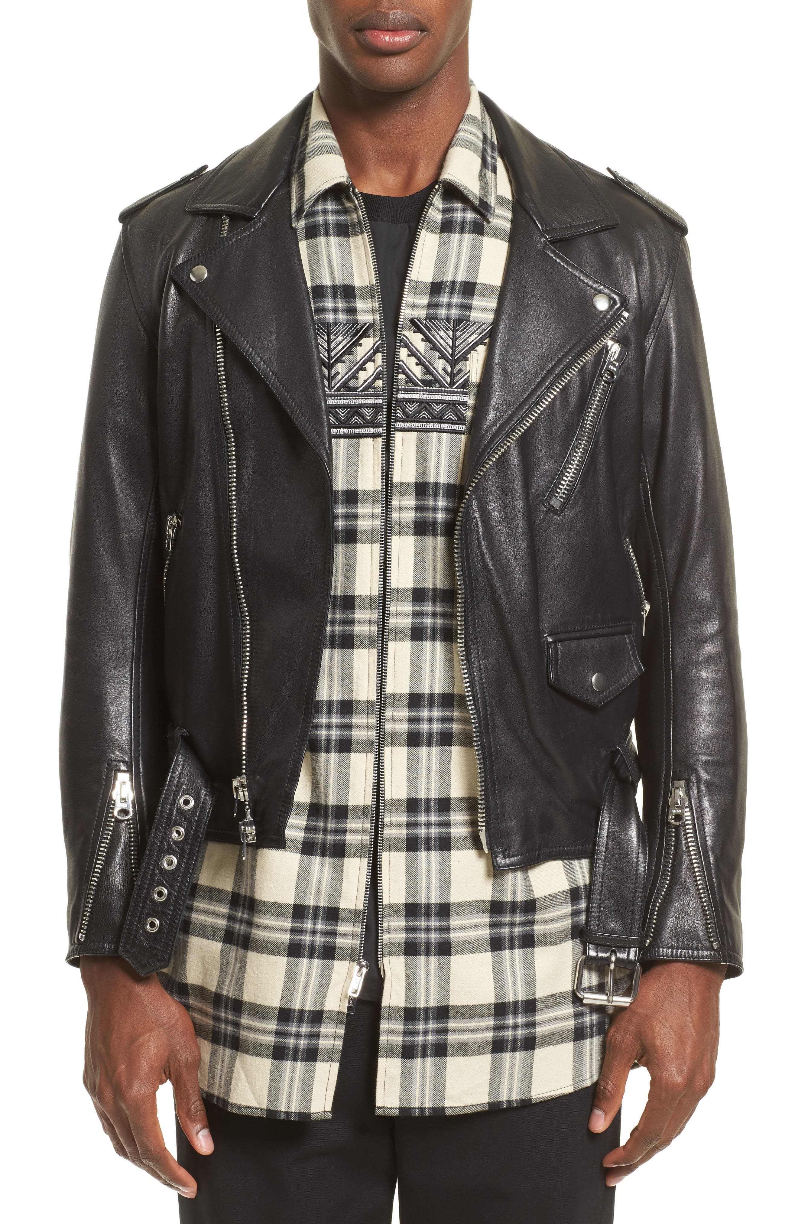 3.1 Phillip Lim Classic Leather Moto Jacket