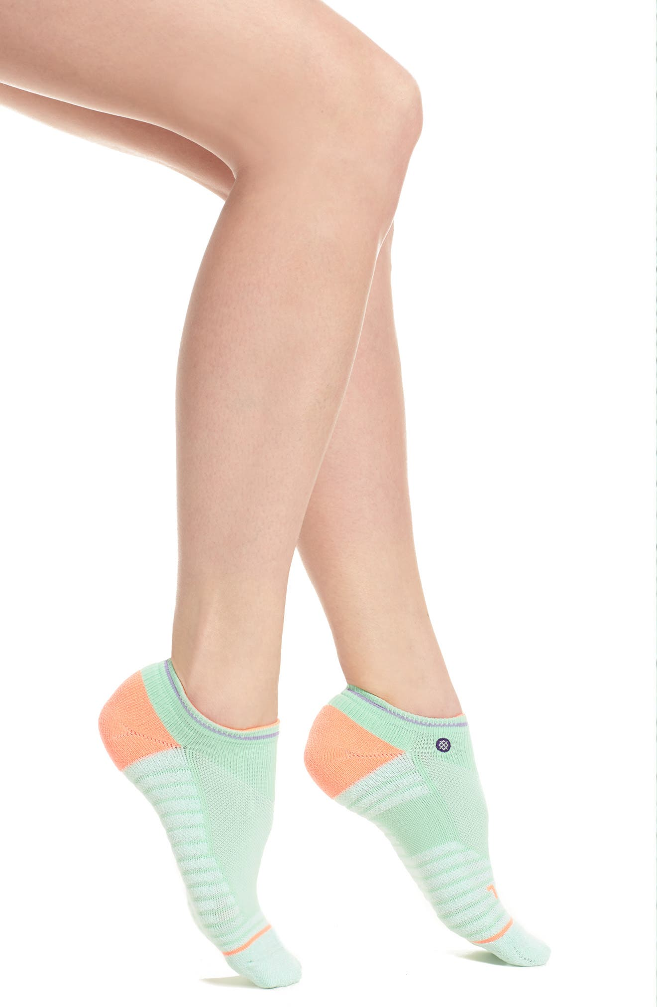 Stance Mint Trees Performance Ankle Socks
