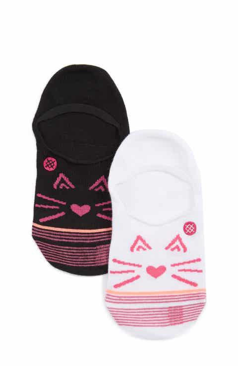 Stance Kitty Cat Ankle Socks (Little Kid   Big Kid)