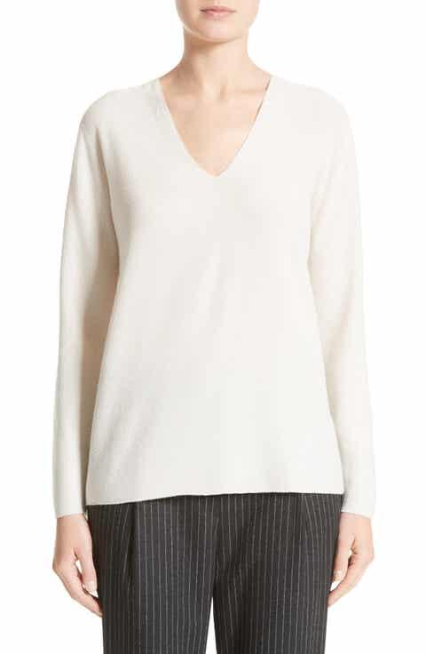 Fabiana Filippi Wool, Silk   Cashmere Micro Popcorn Stitch Sweater