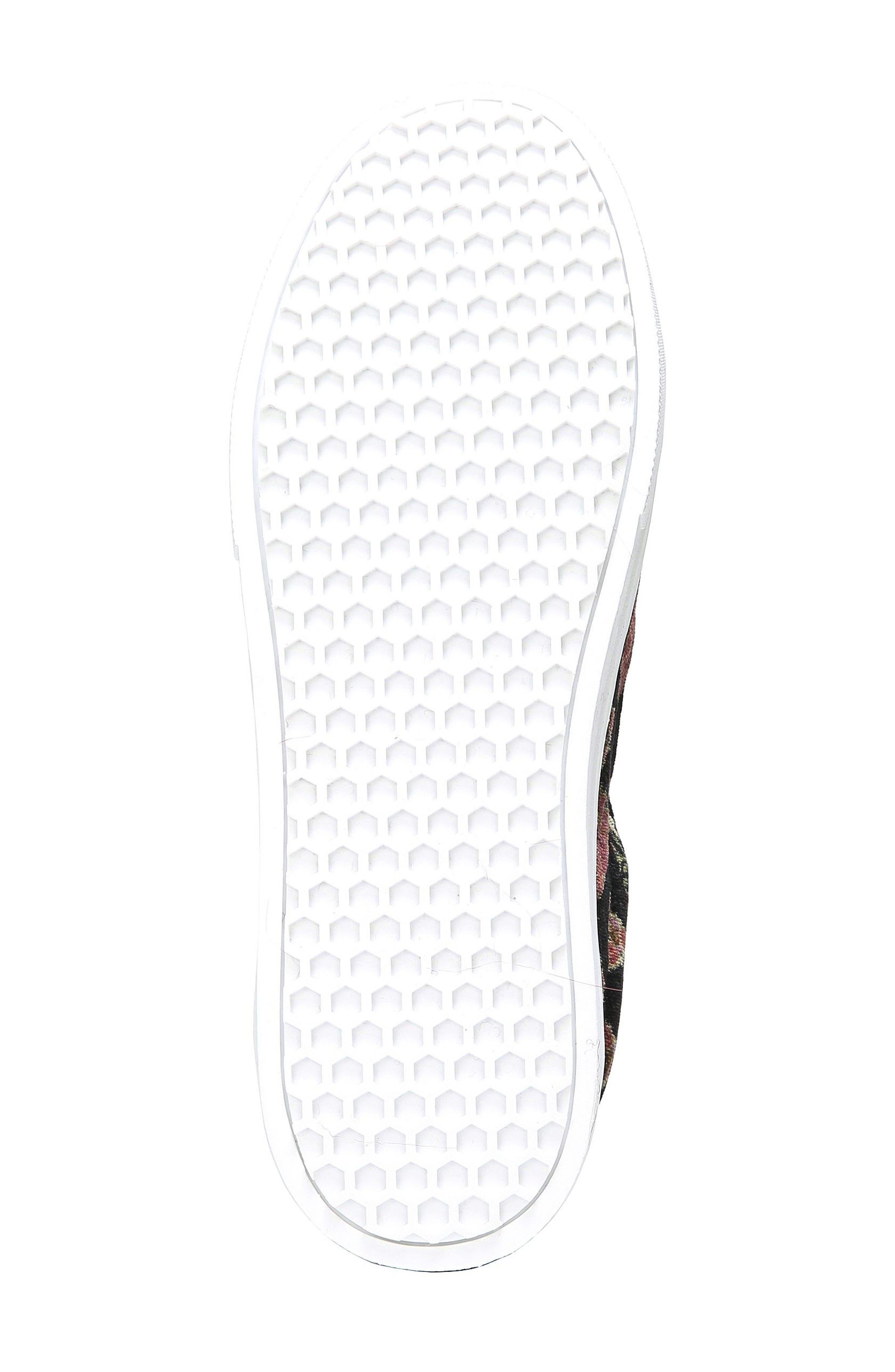 Alternate Image 5  - Sam Edelman 'Leya' Faux Fur Laceless Sneaker (Women)