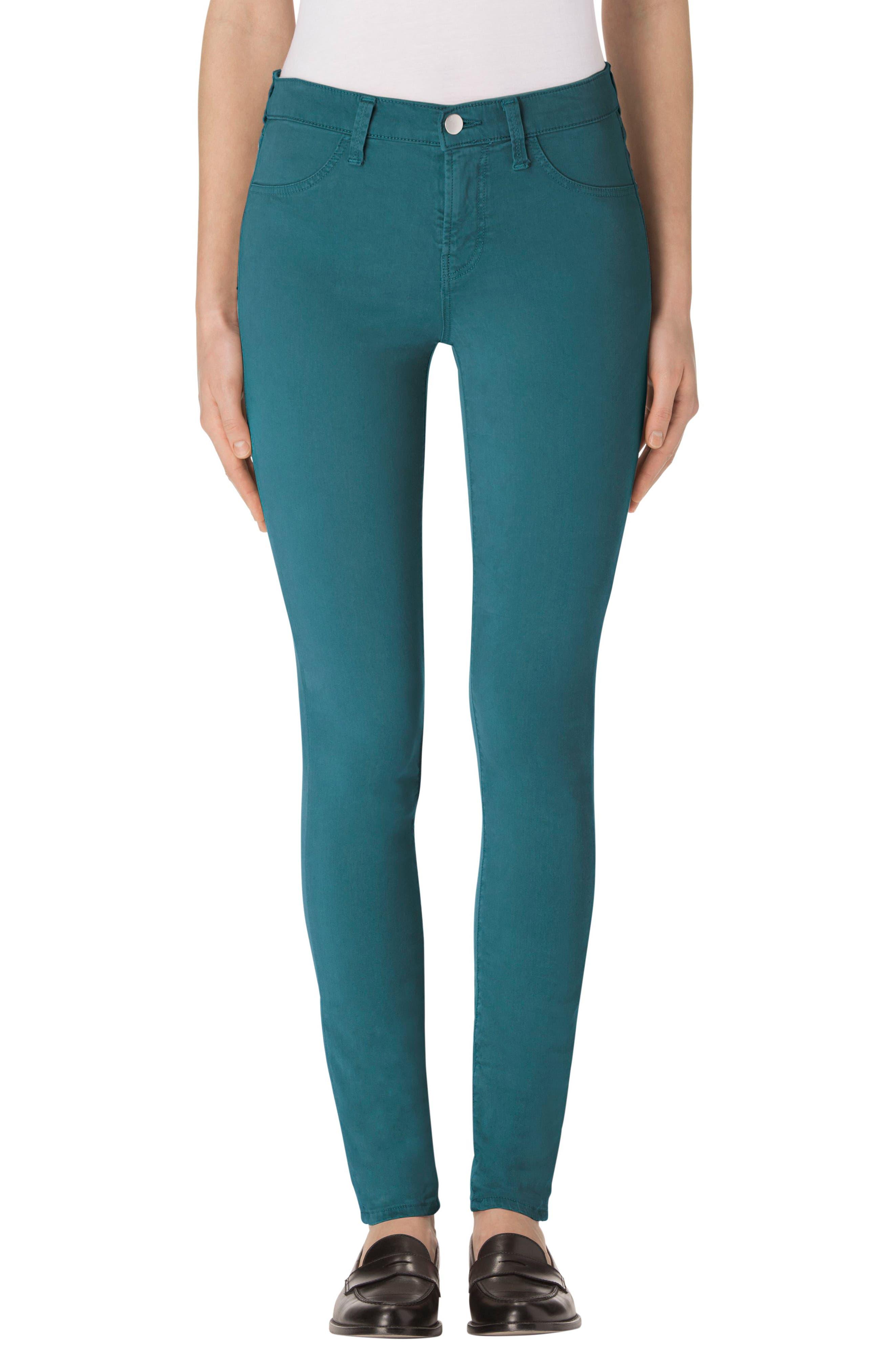 J Brand High Waist Ankle Super Skinny Jeans