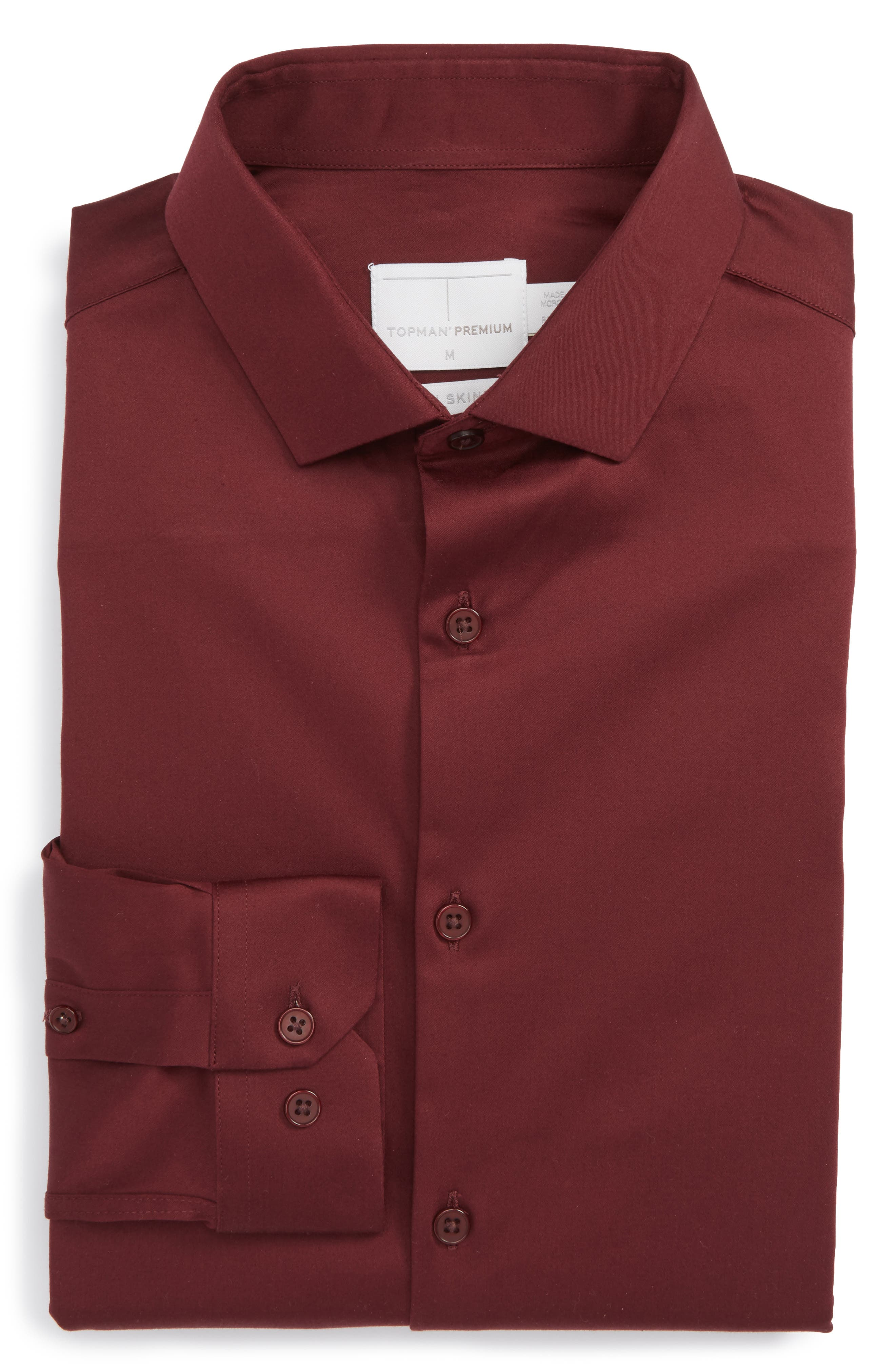 Topman Stretch Cotton Shirt