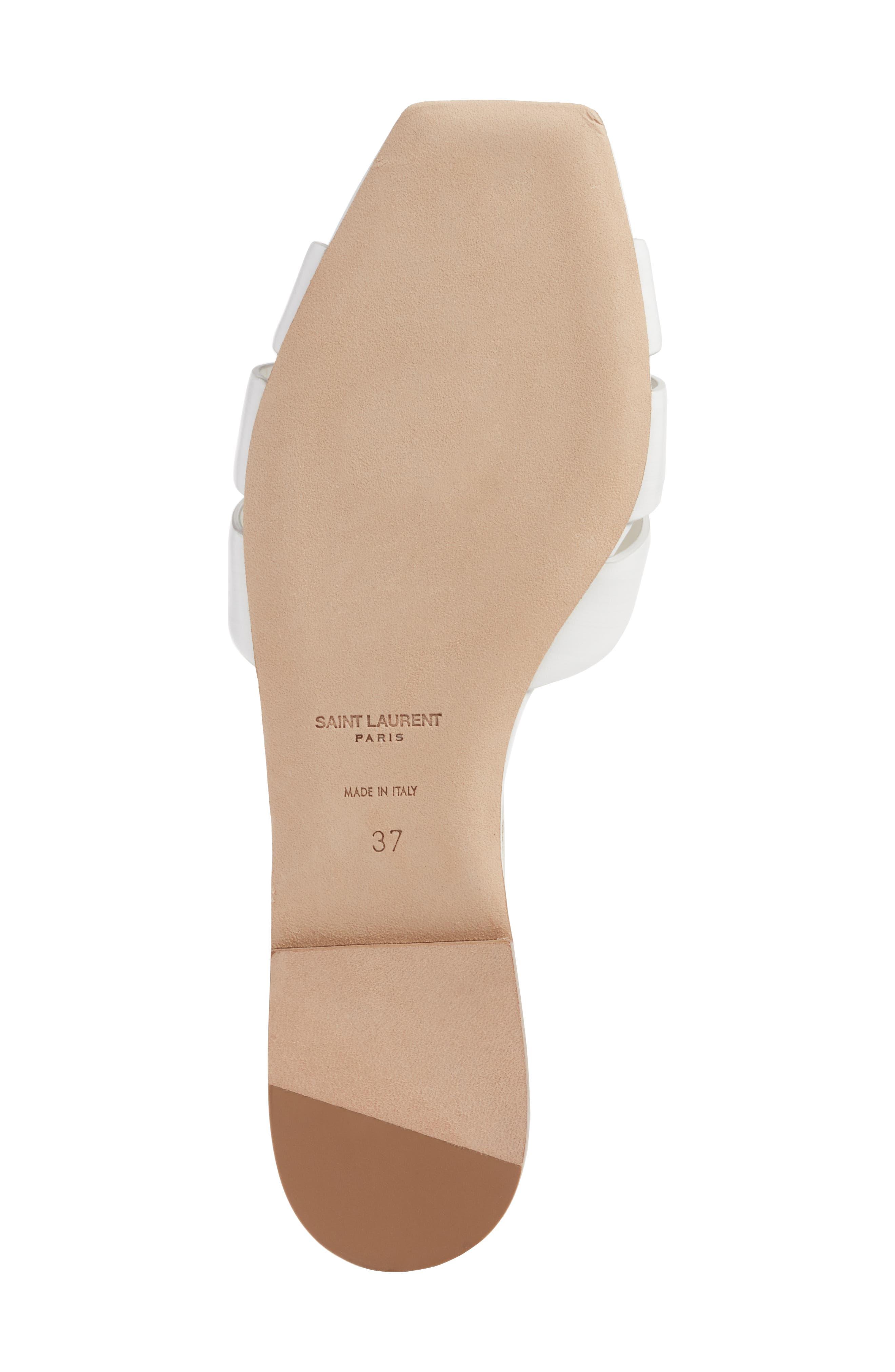 Alternate Image 5  - Saint Laurent Tribute Slide Sandal (Women)