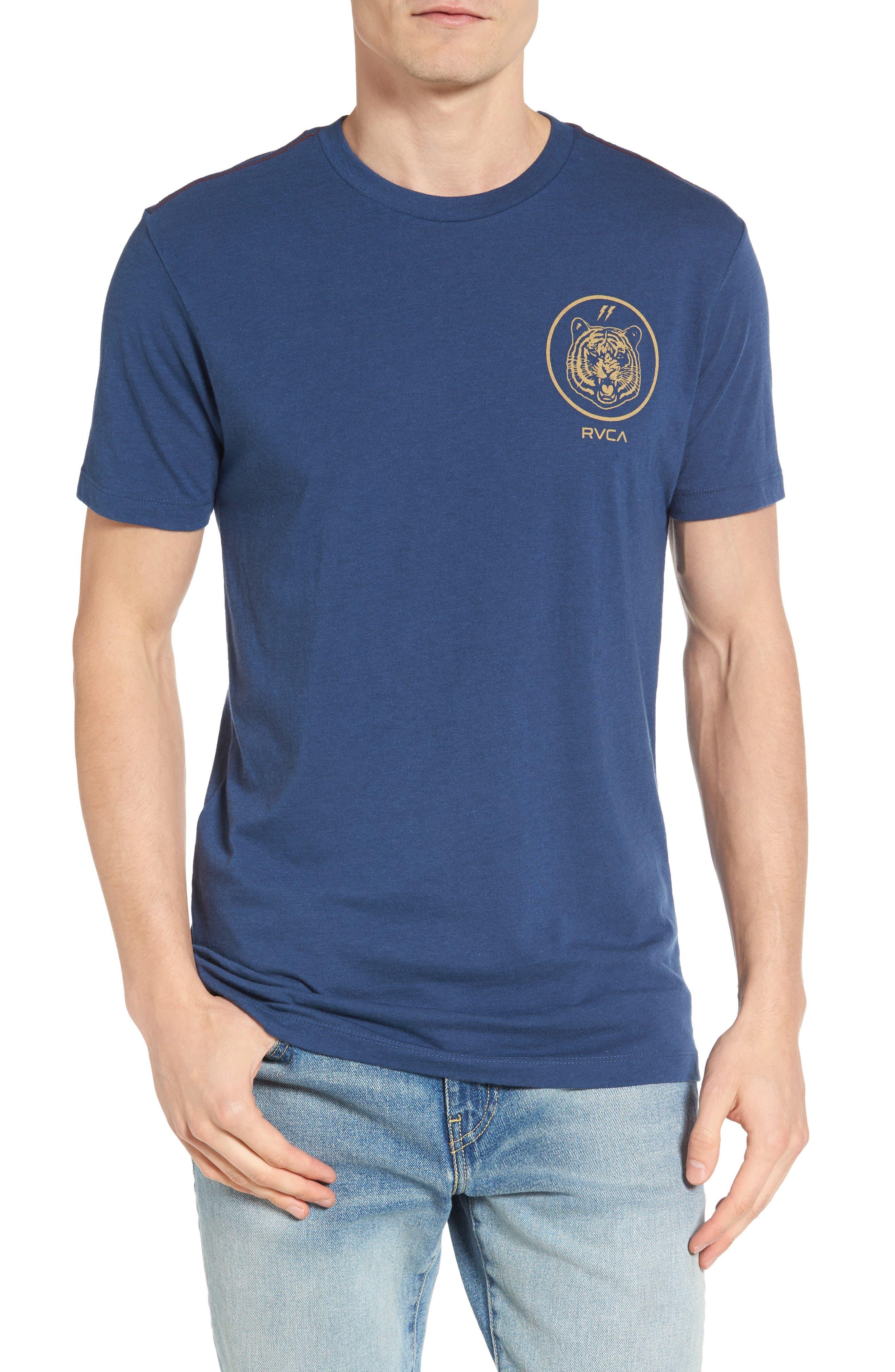 RVCA Prigus Sport Tiger Logo T-Shirt