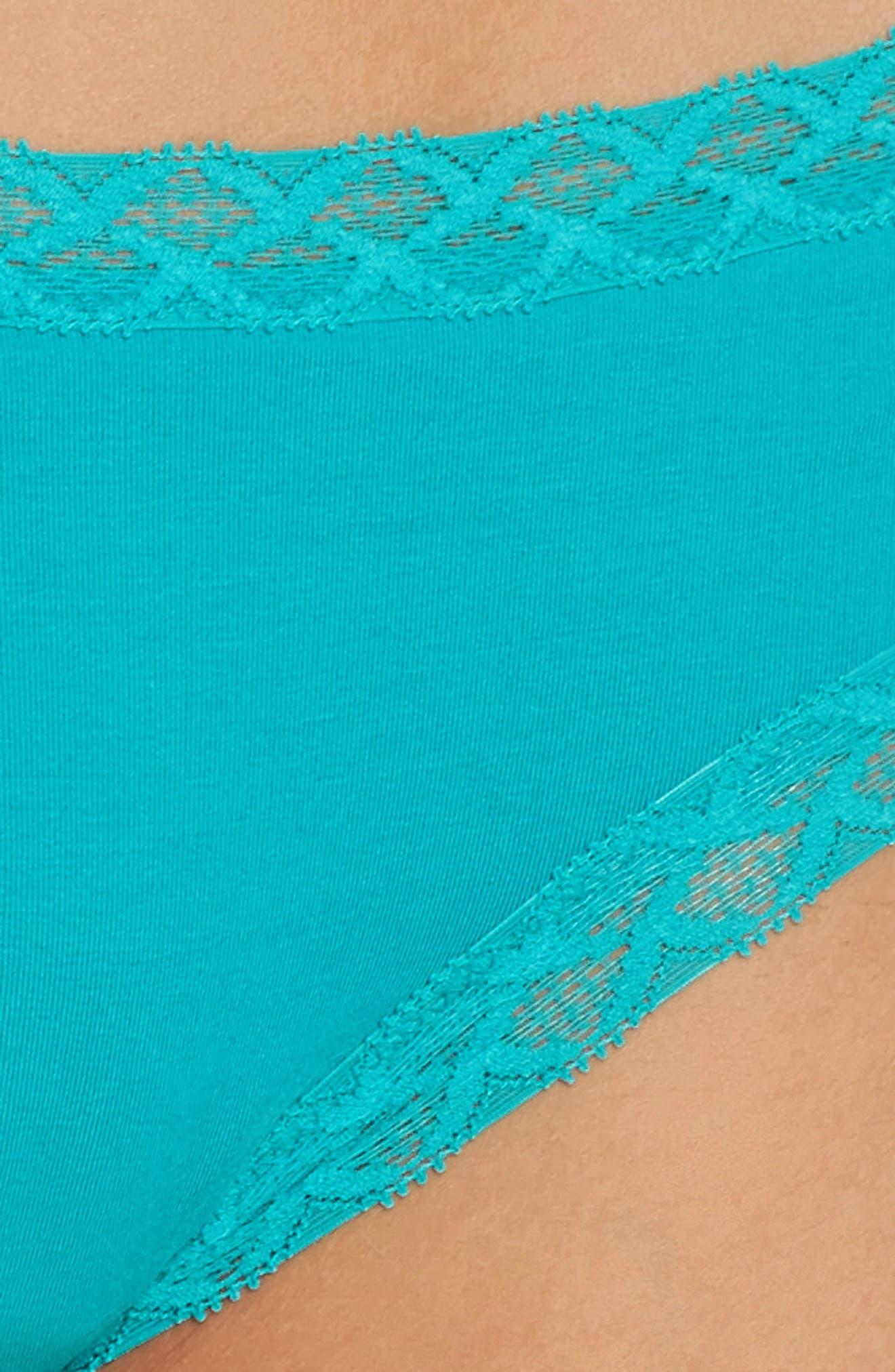 Alternate Image 4  - Natori Bliss Cotton Girl Briefs (3 for $45)