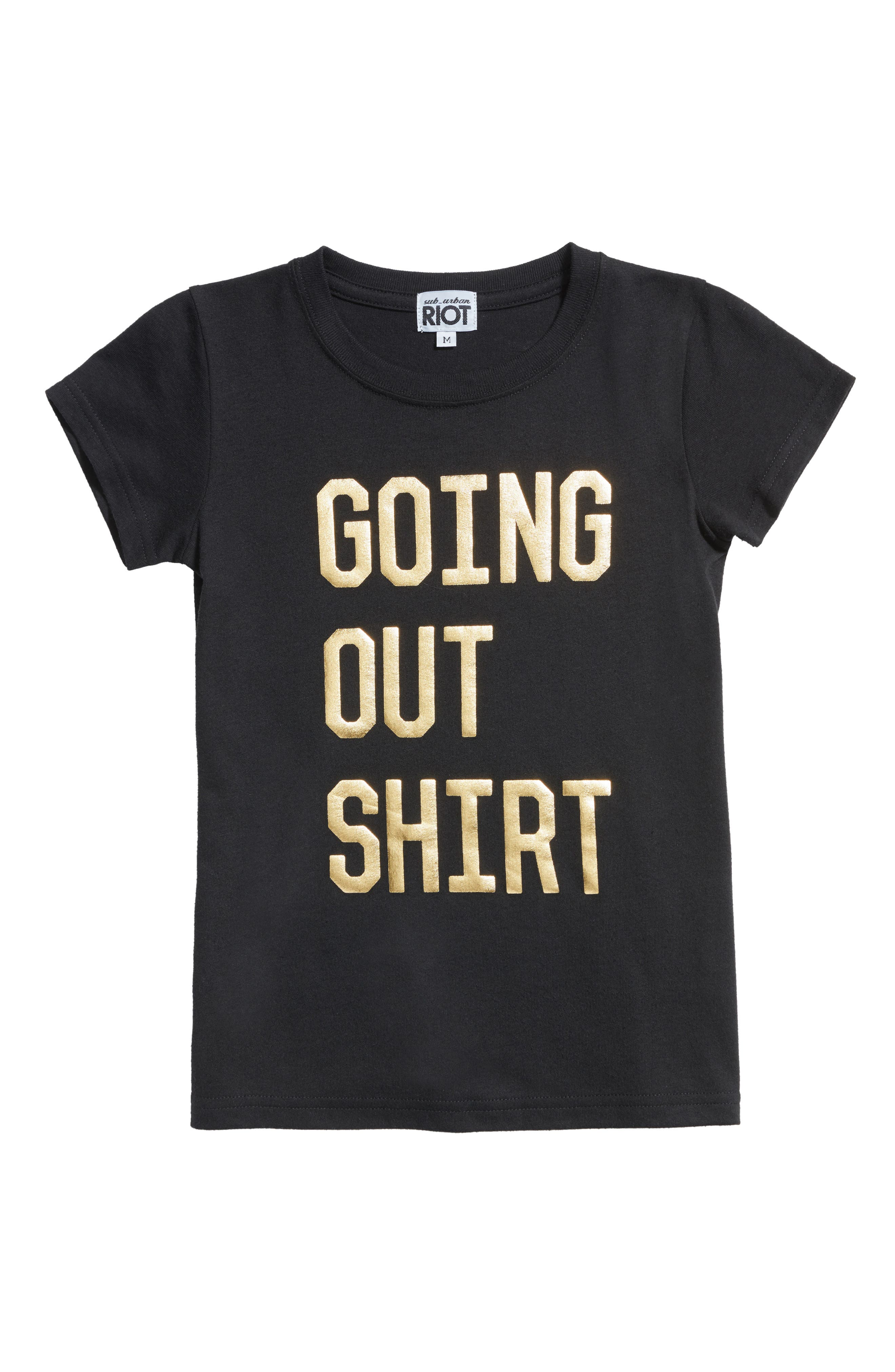 Sub_Urban Riot Going Out Shirt Tee (Big Girls)