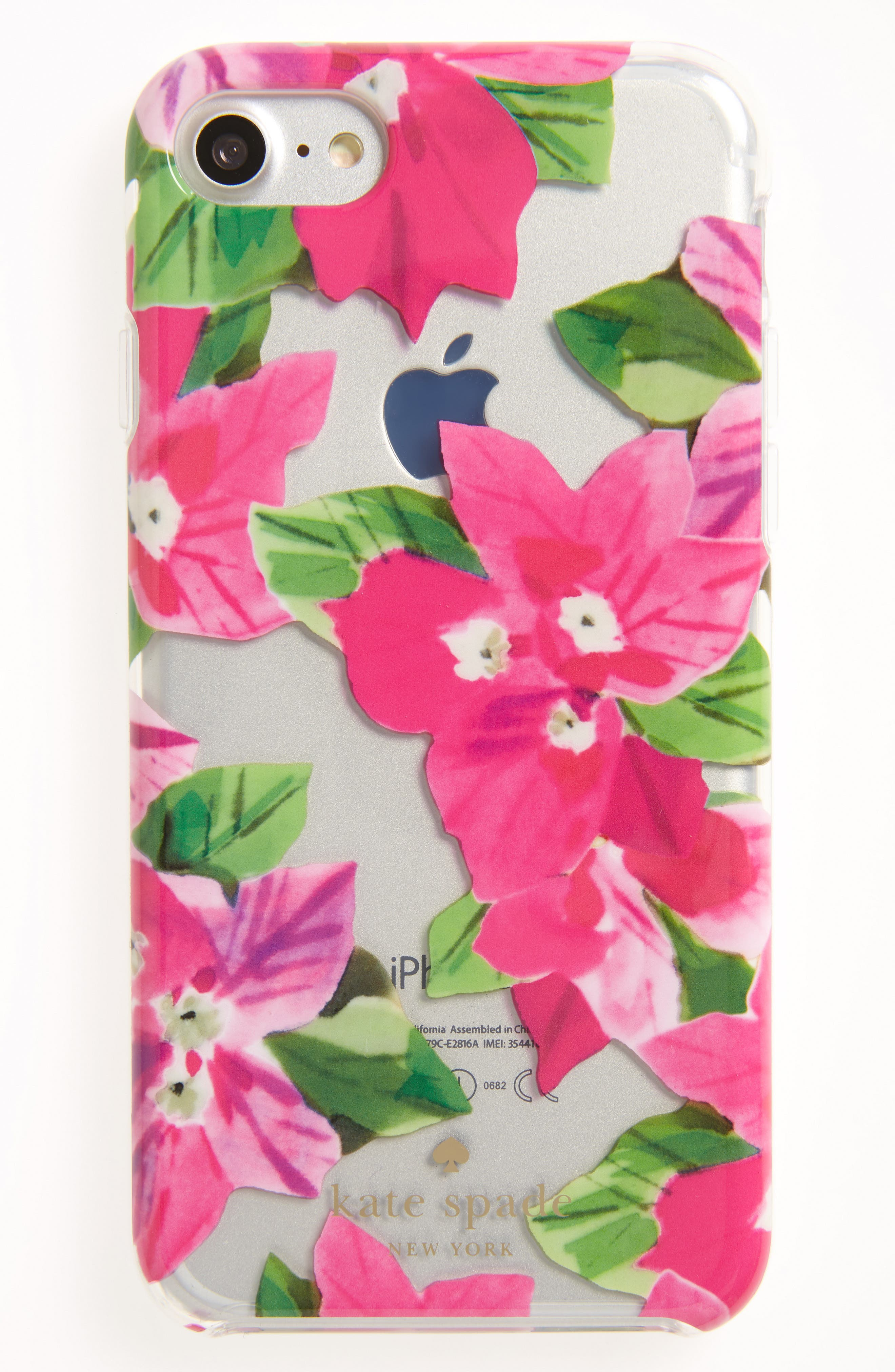 Alternate Image 1 Selected - kate spade new york bougainvillea iPhone 7 case