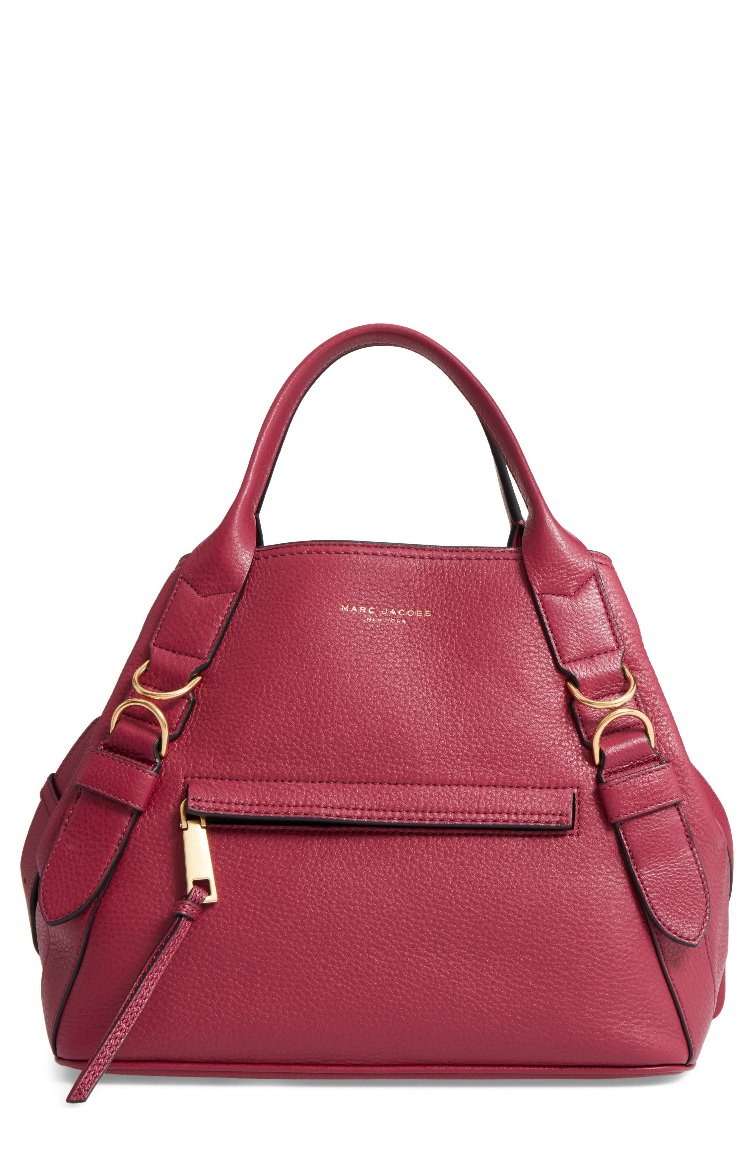 MARC JACOBS The Anchor Leather Shoulder Bag