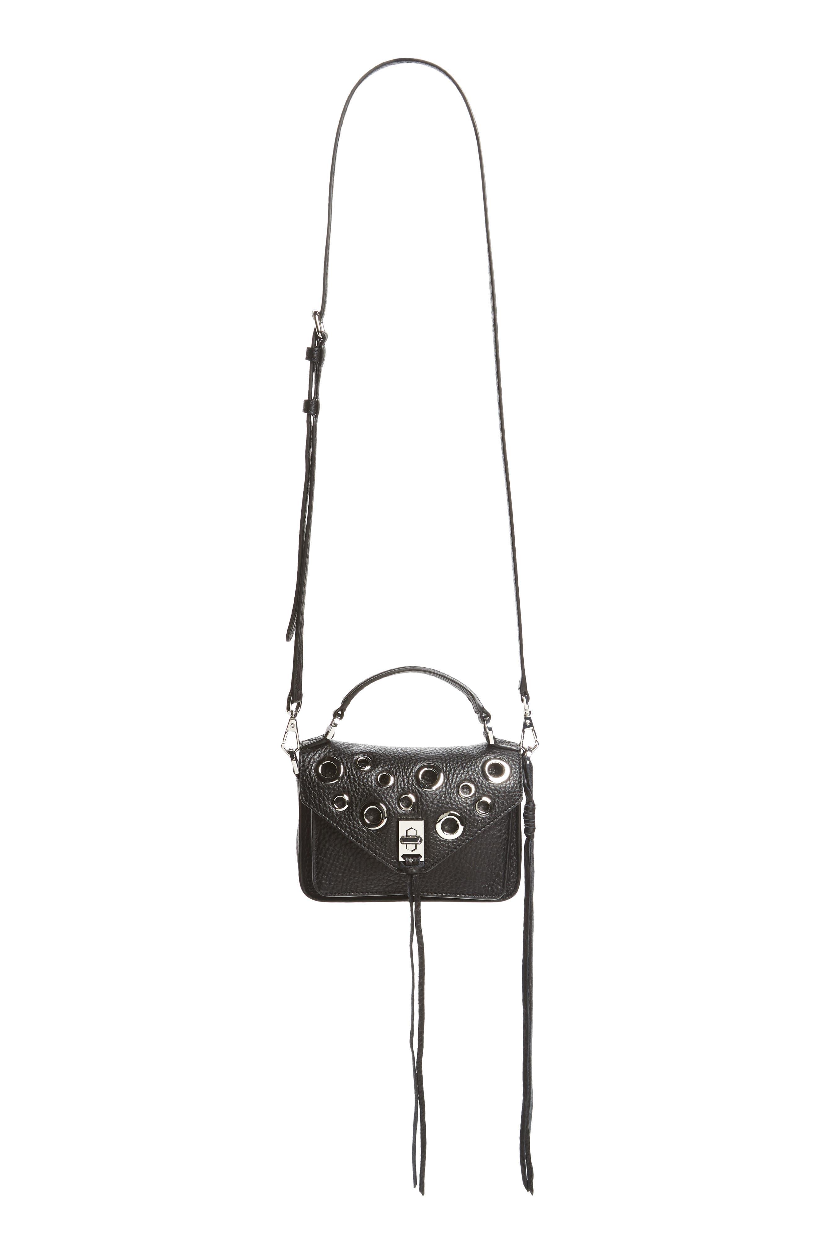 Rebecca Minkoff Mini Darren Leather Messenger Bag