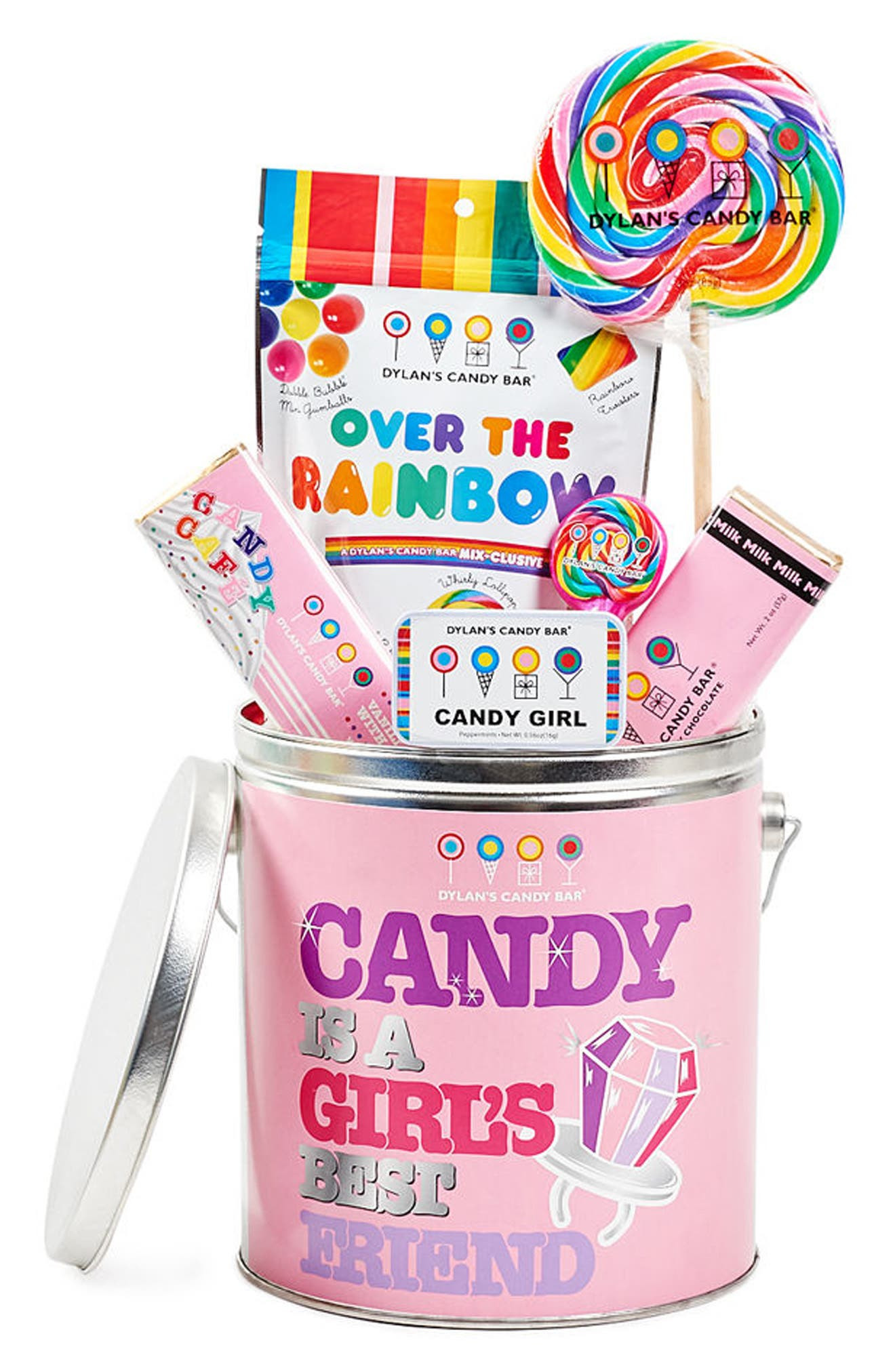 Dylan's Candy Bar Candy Is a Girl's Best Friend Bucket
