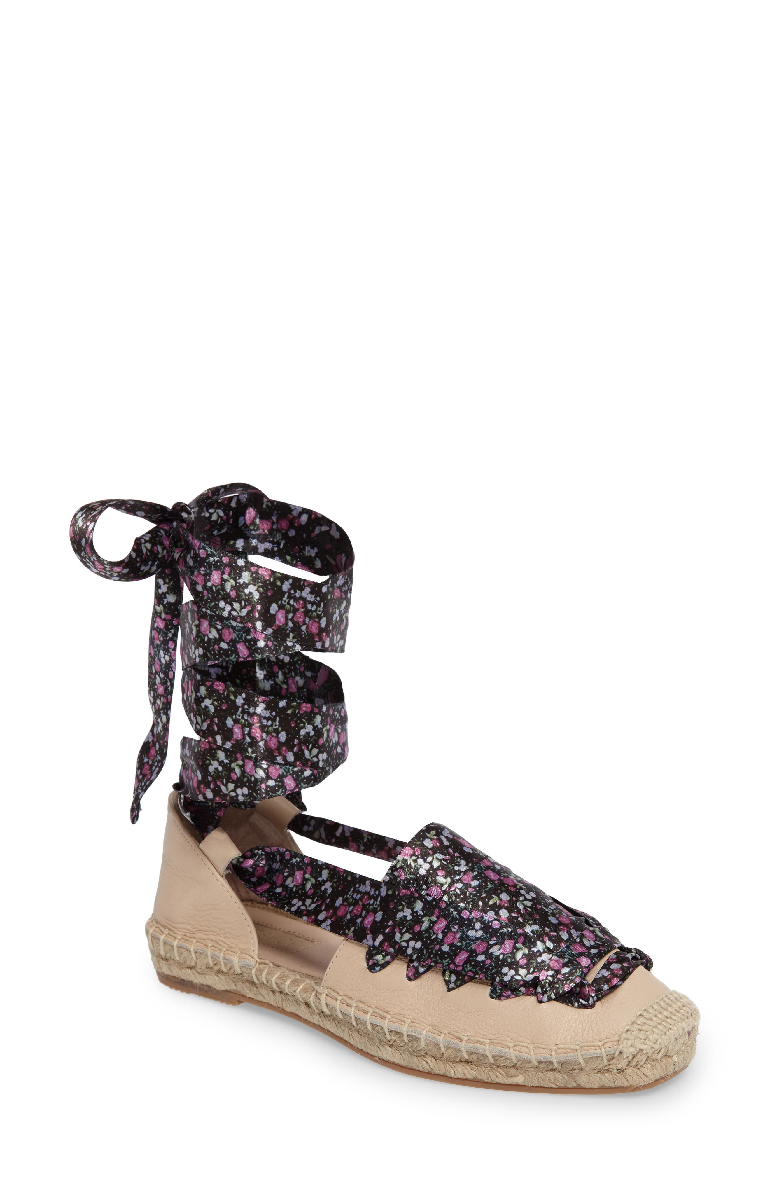 Topshop King Ankle Tie Espadrille (Women)