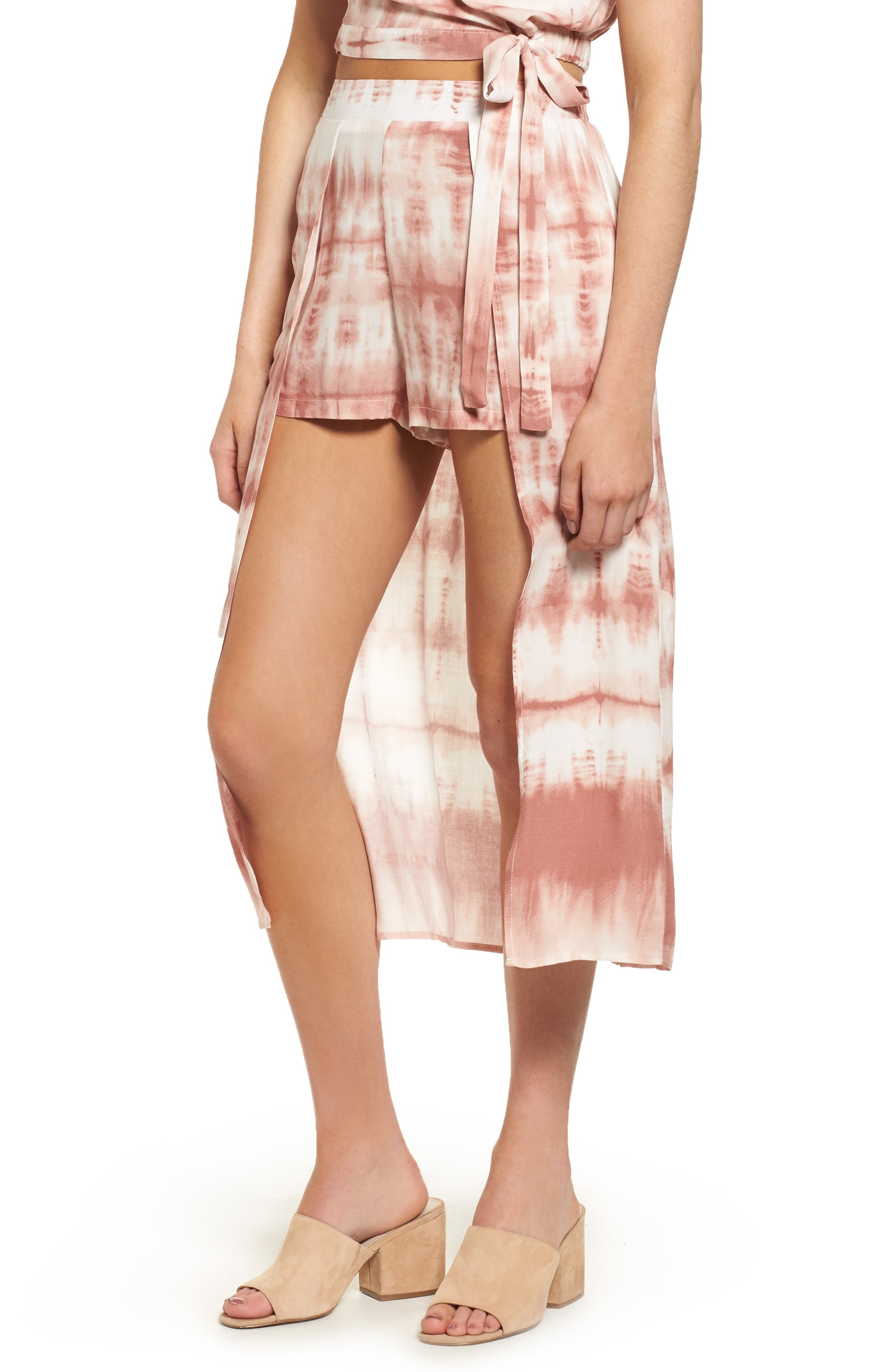Mimi Chica Walk Through Midi Skirt