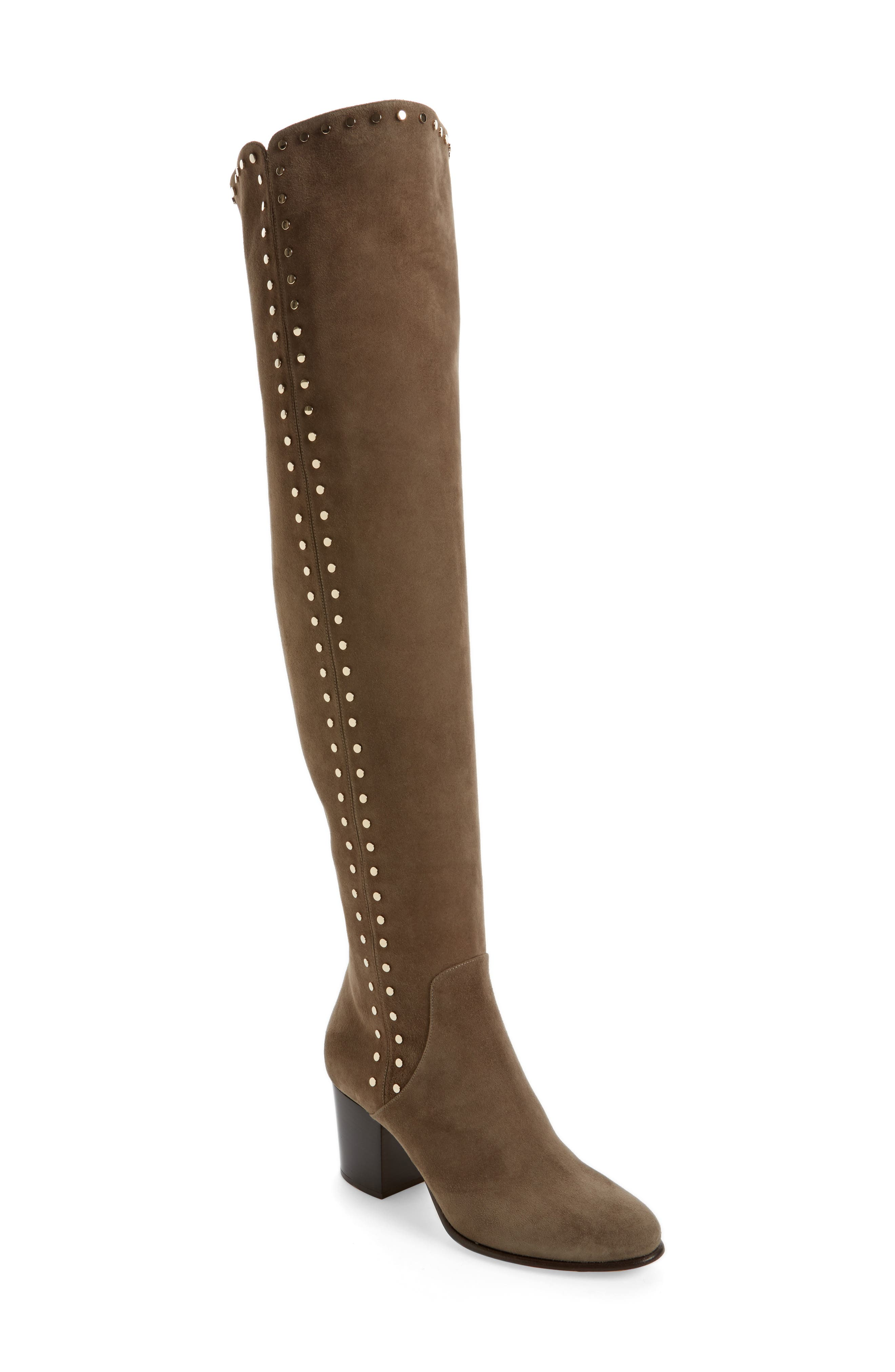 Main Image - Jimmy Choo Harlem Over the Knee Boot (Women)