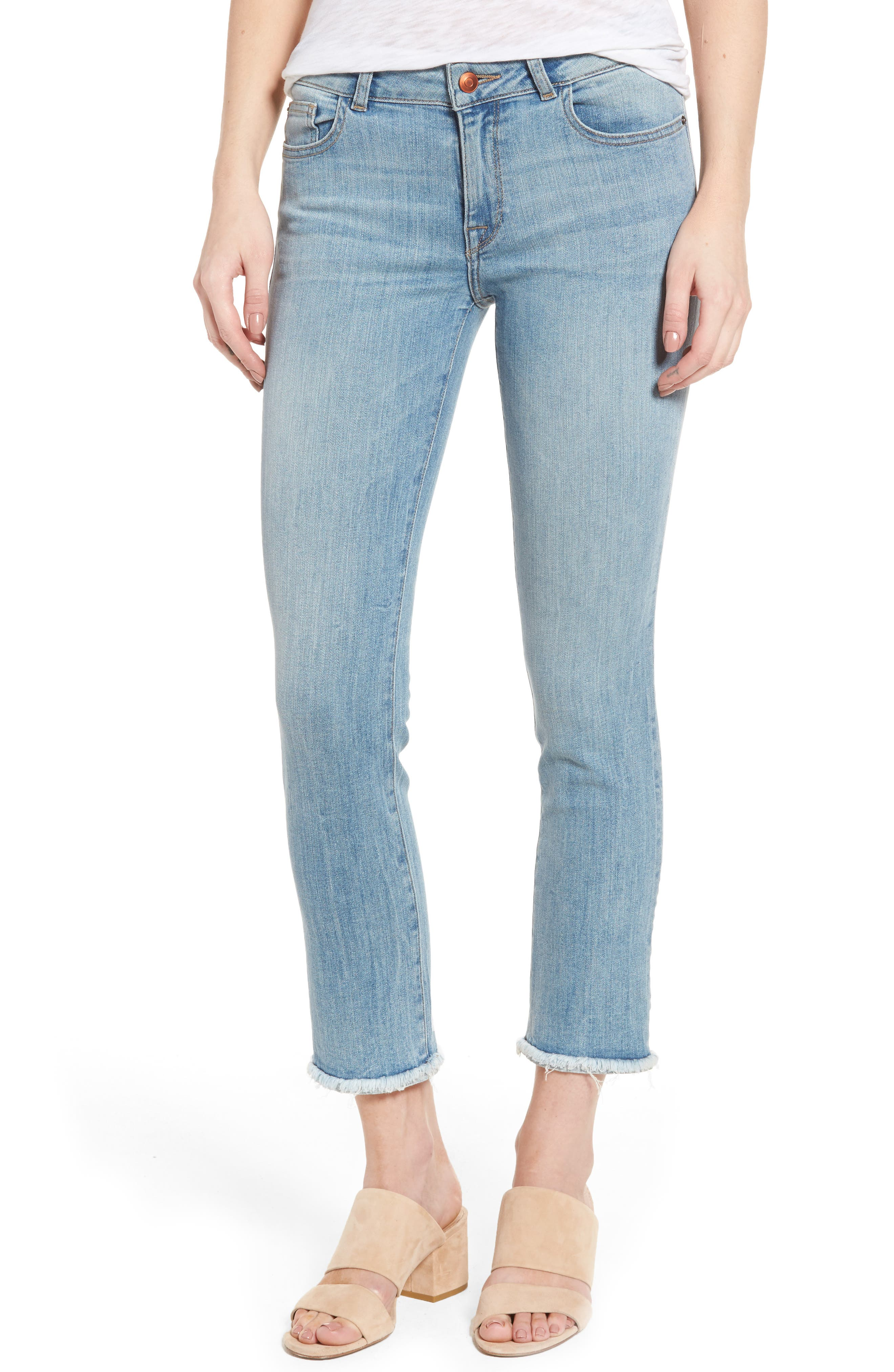 DL1961 Mara Ankle Straight Leg Jeans (Fortune)