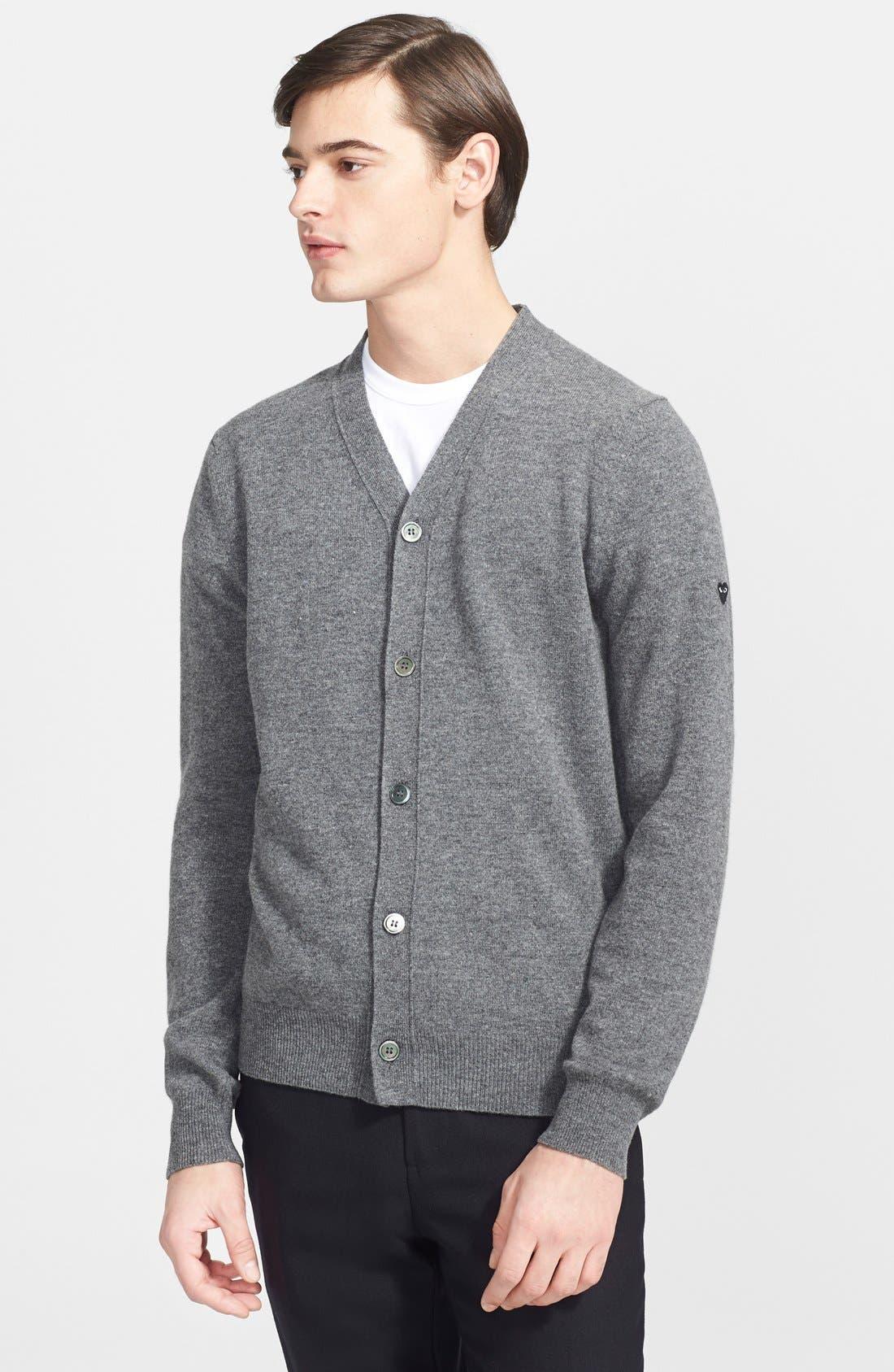 COMME DES GARÇONS PLAY Wool Cardigan