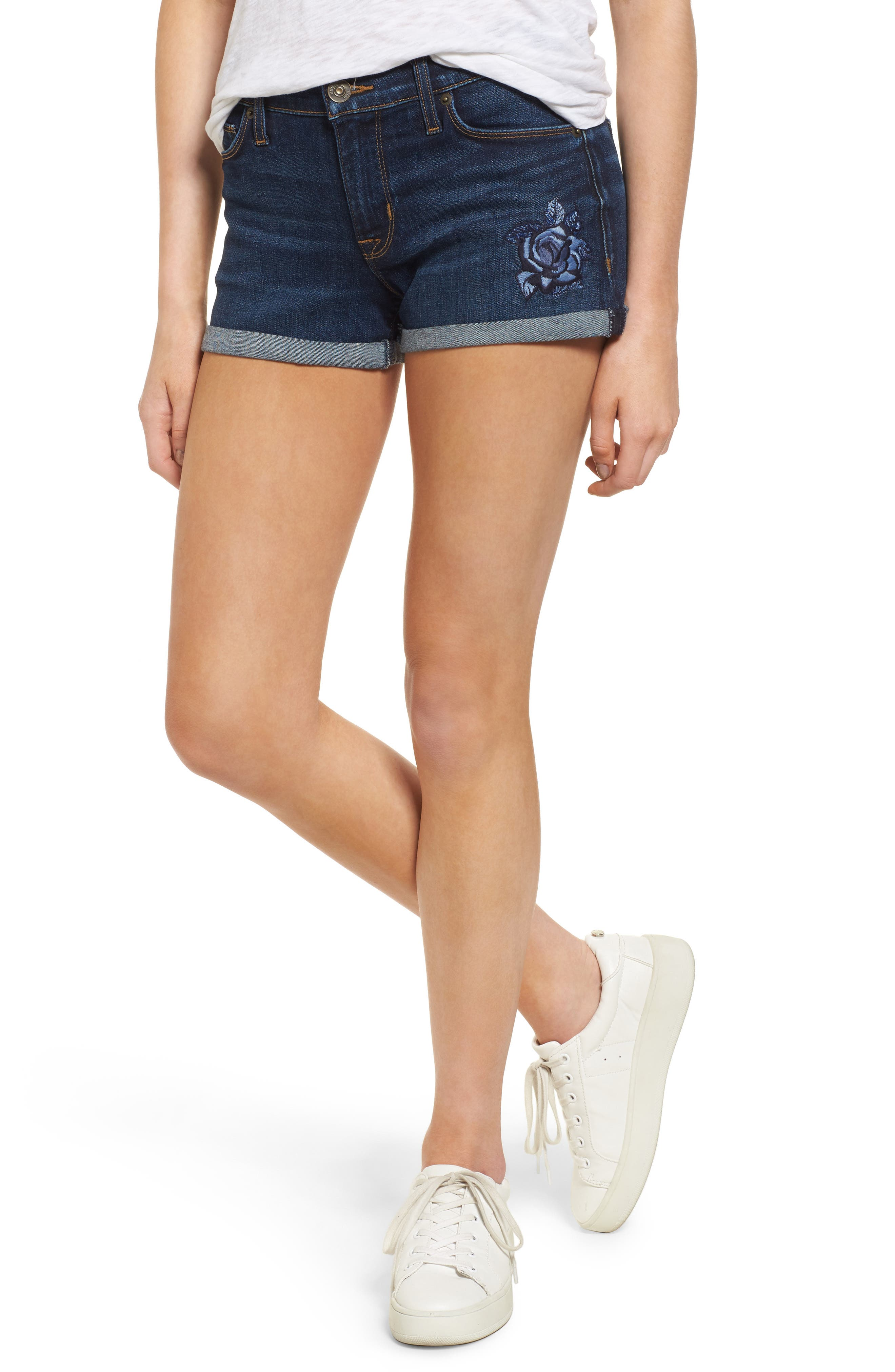 Hudson Jeans Asha Denim Shorts