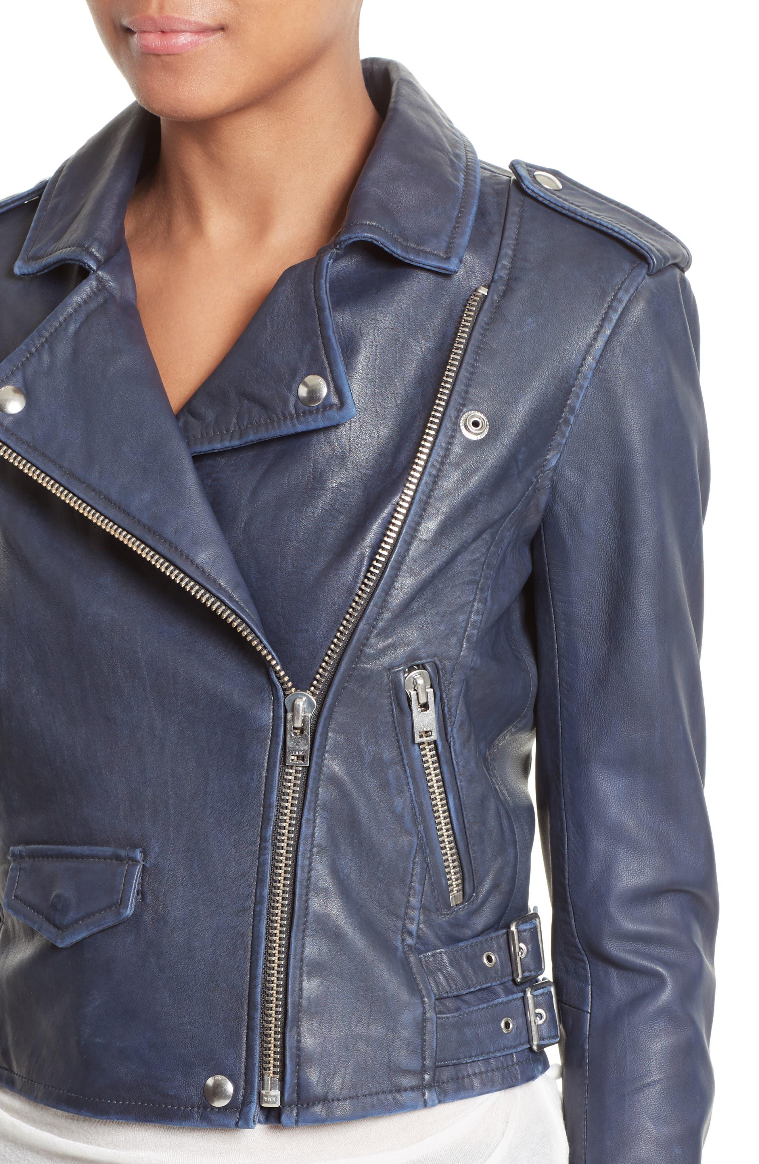 Alternate Image 4  - IRO 'Ashville' Leather Jacket