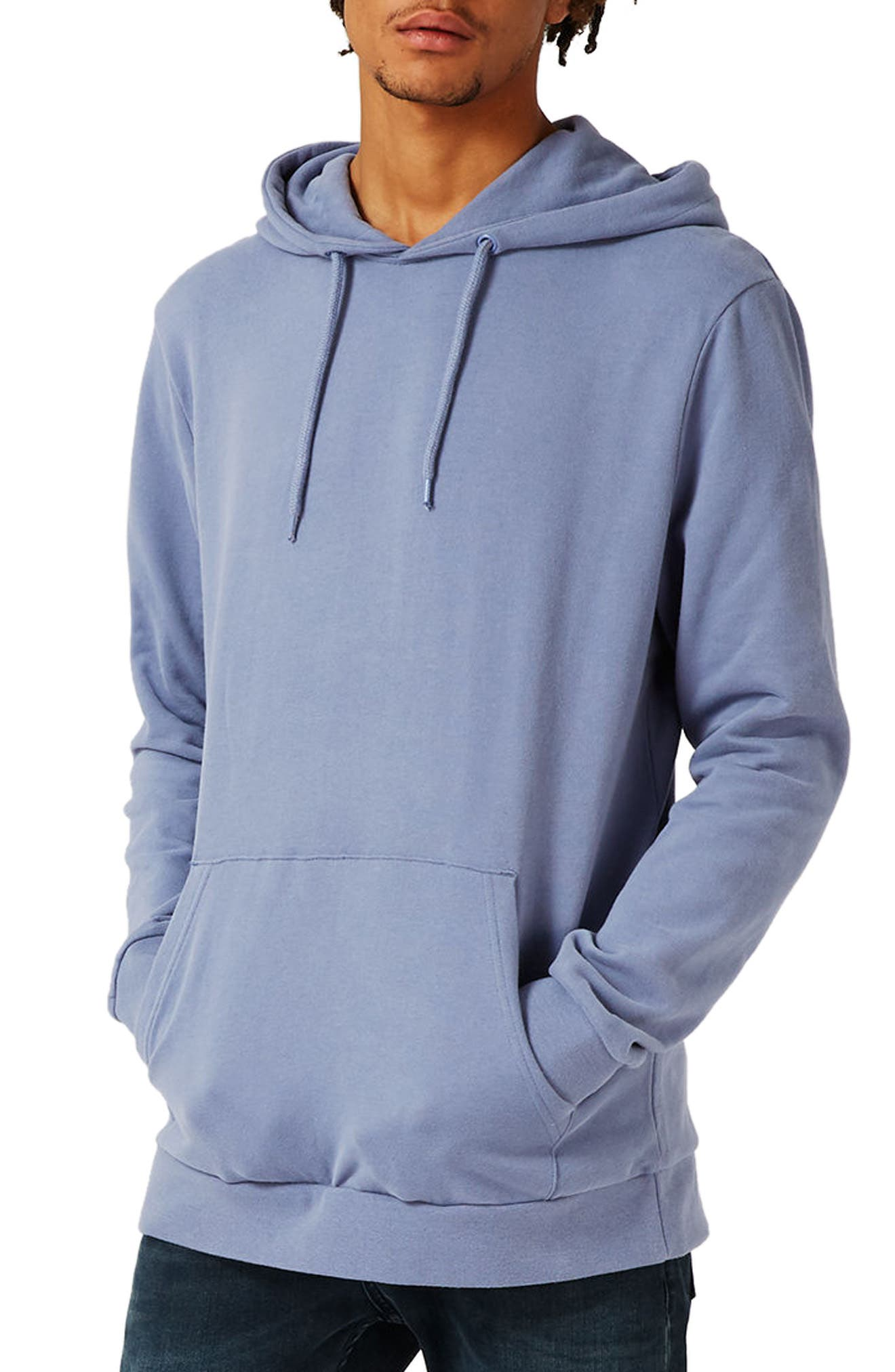Topman Classic Fit Cotton Hoodie