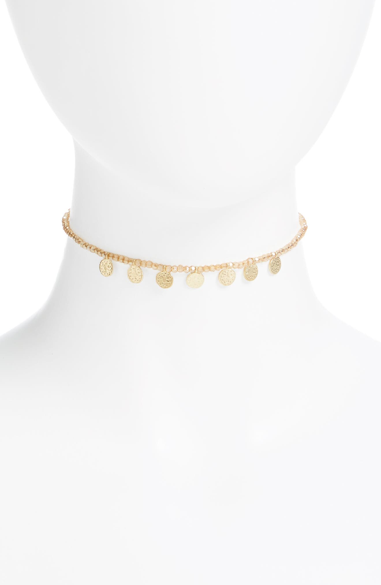 Canvas Disc Choker
