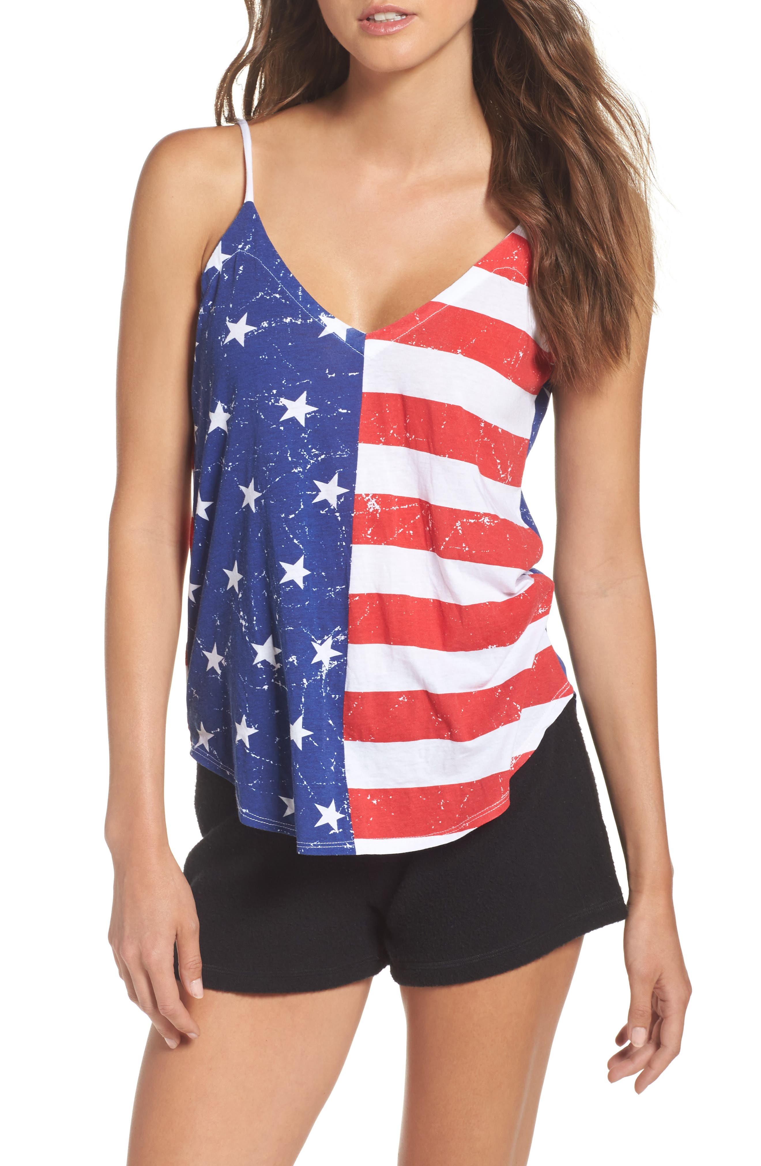 Chaser Stars & Stripes Lounge Camisole