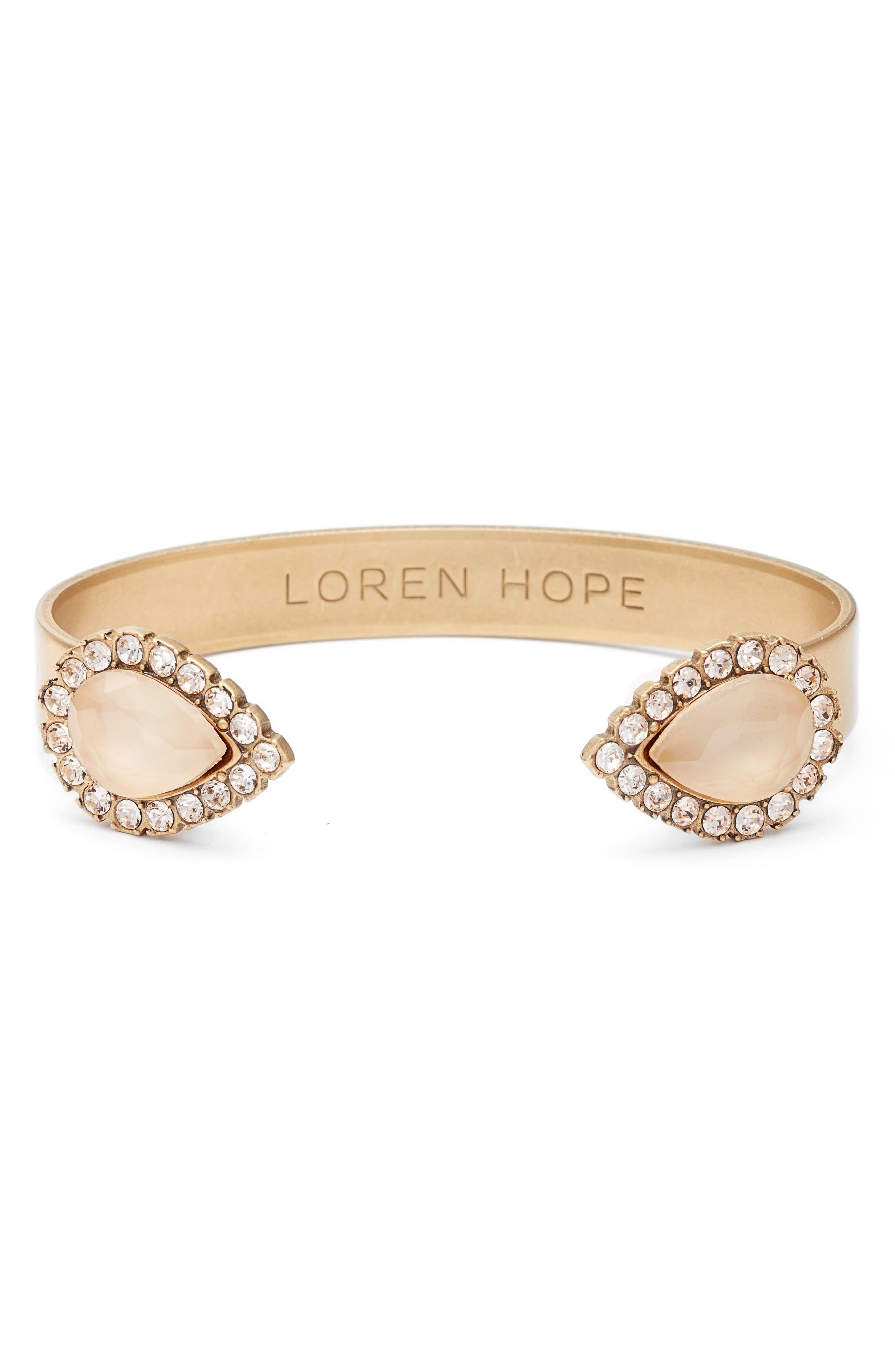 Loren Hope 'Sarra' Crystal Cuff