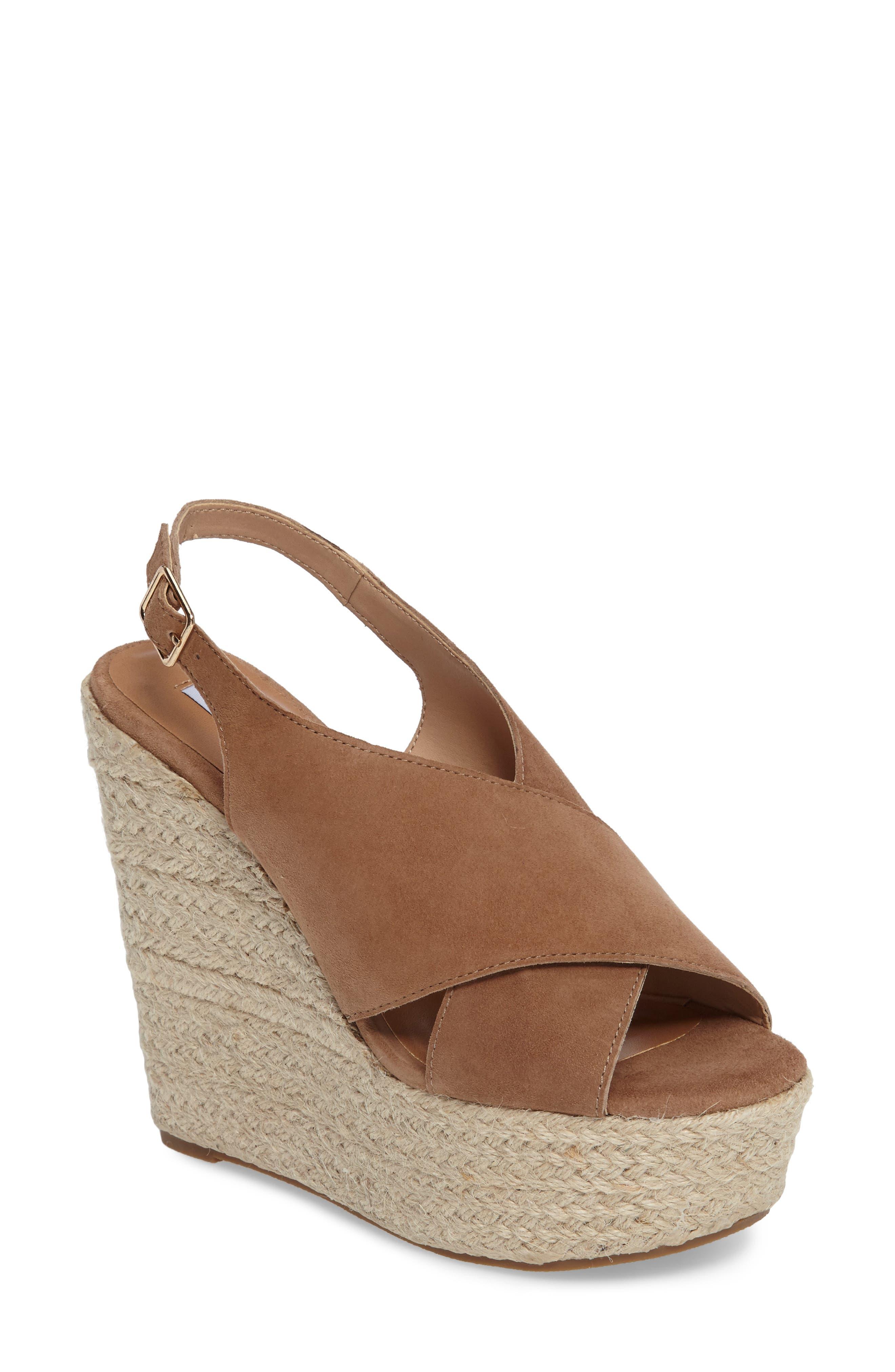 Steve Madden Rayla Platform Wedge Sandal (Women)