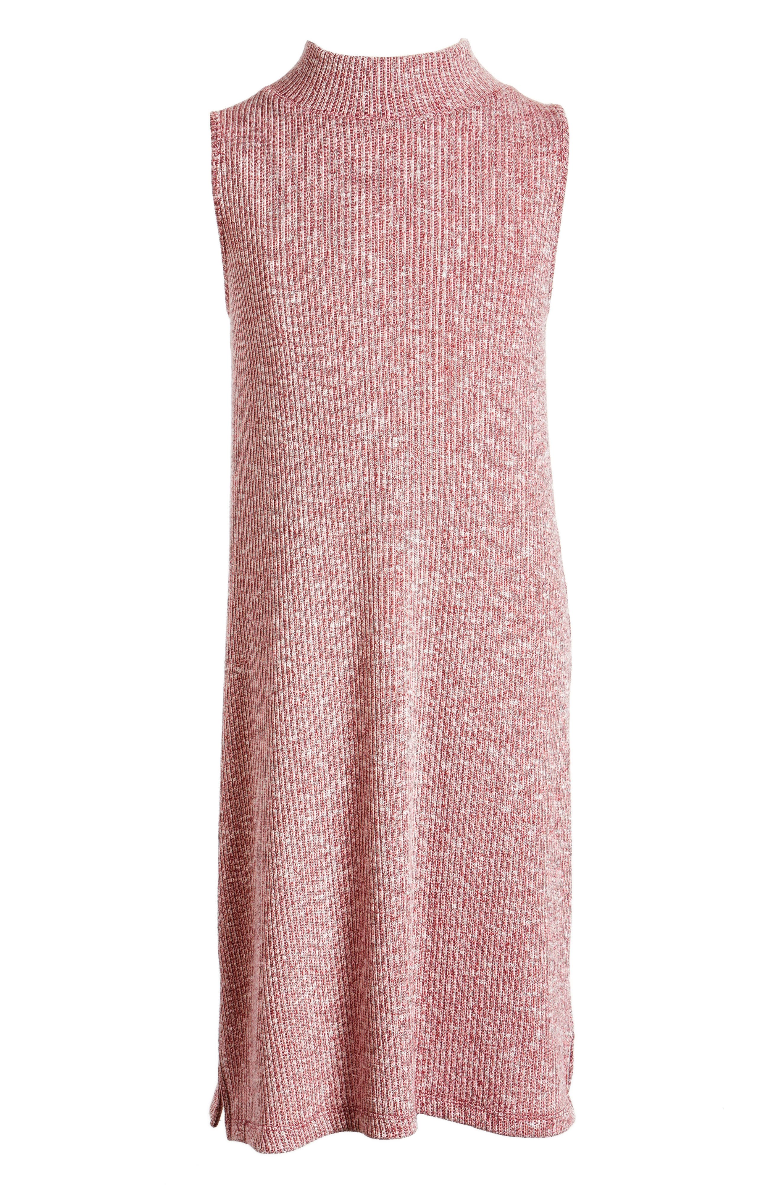 Cotton Emporium Sleeveless Mock Neck Dress (Big Girls)