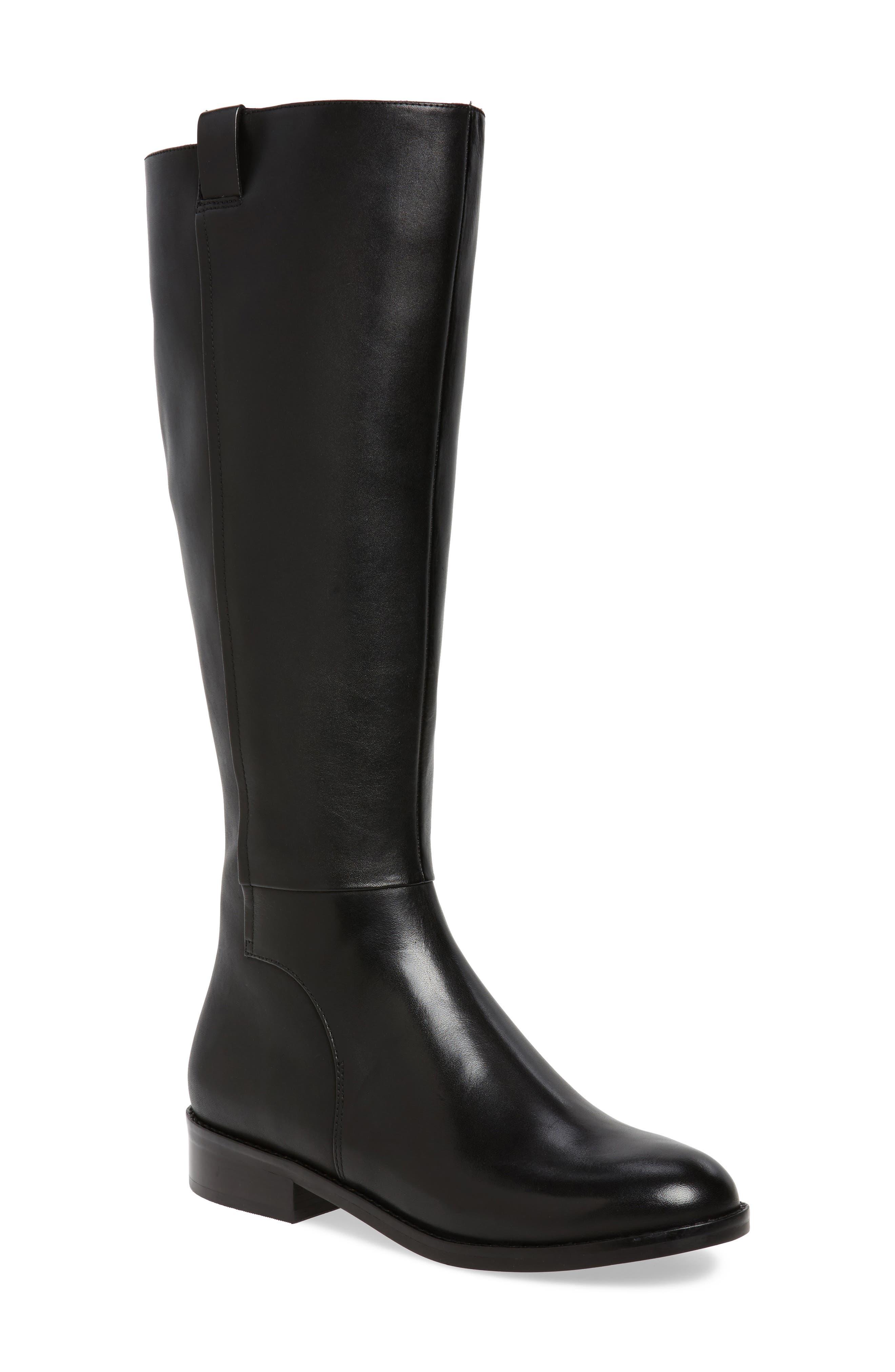 Alternate Image 1 Selected - Cole Haan Katrina Riding Boot (Women) (Regular & Wide Calf)