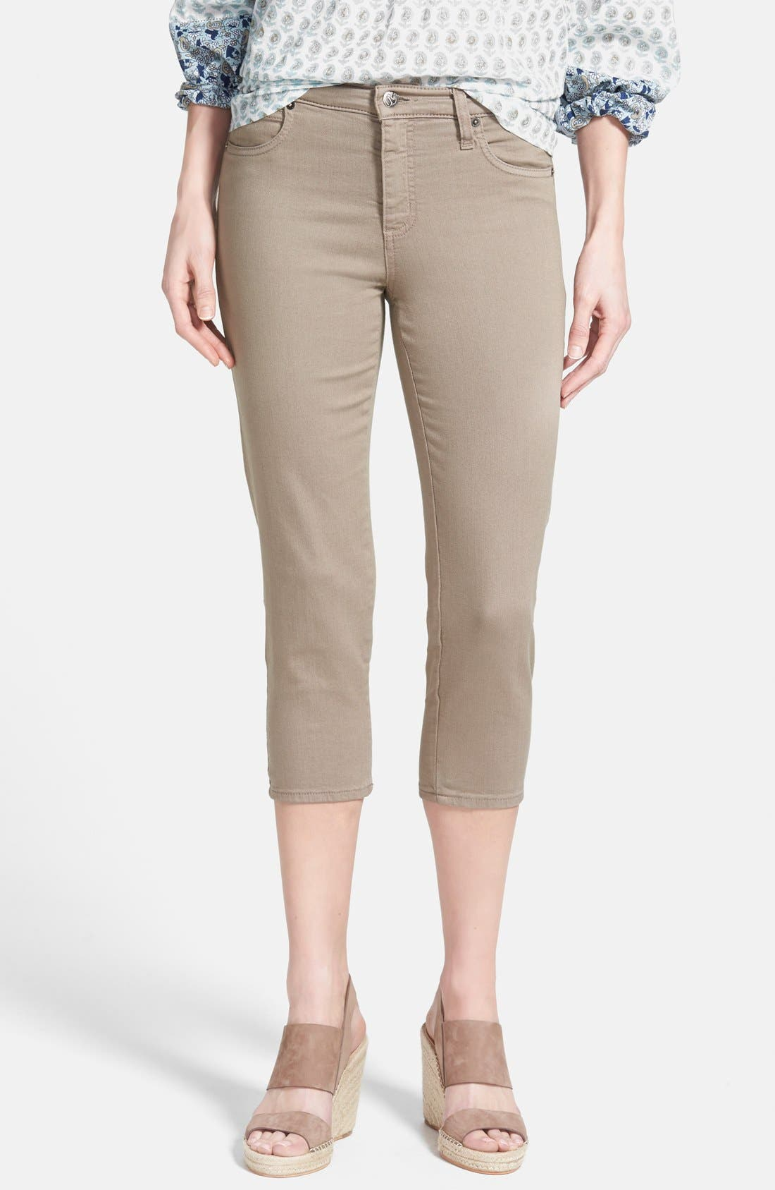 Alternate Image 1 Selected - Second Yoga Jeans Capri Jeans