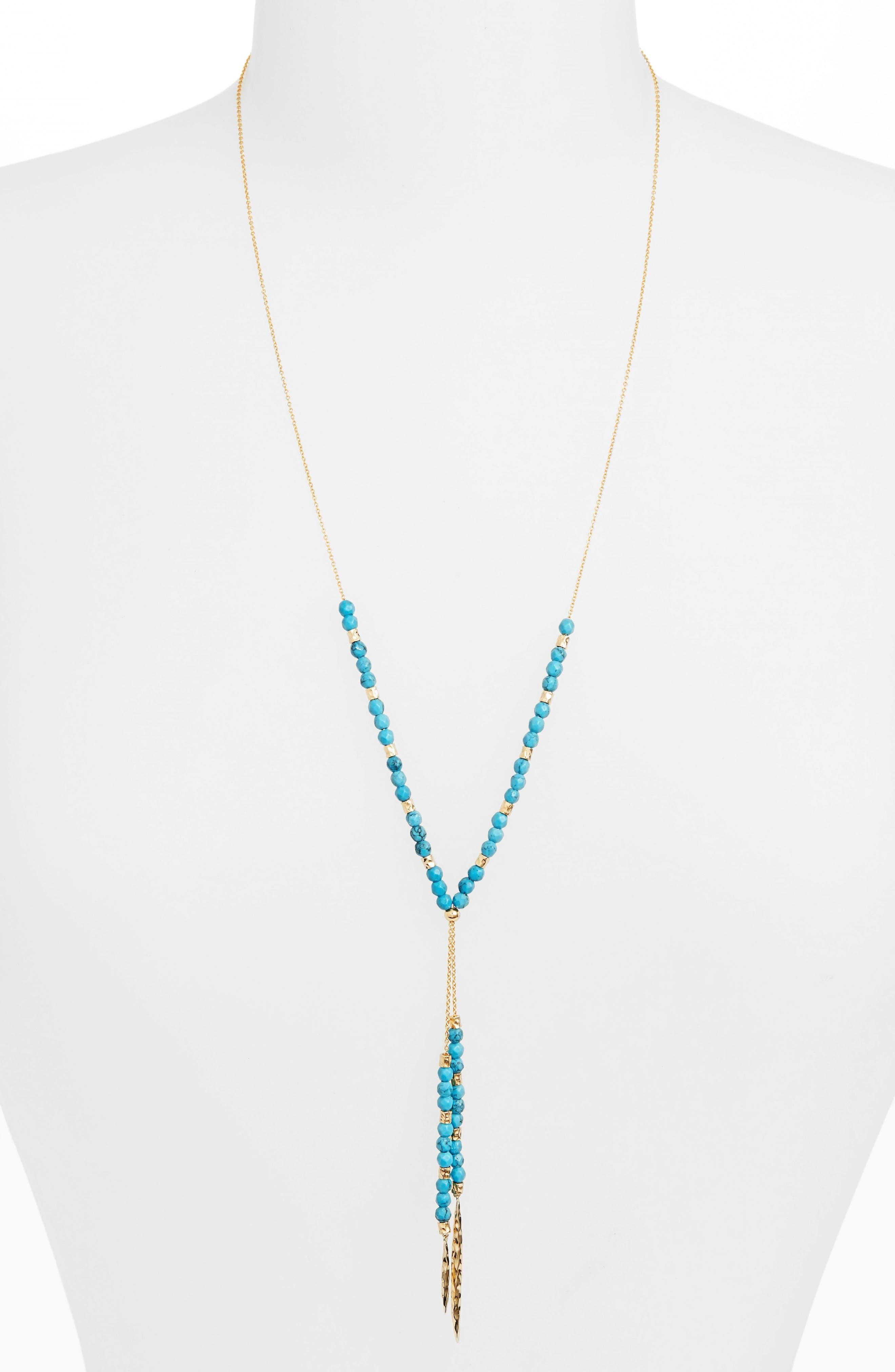 gorjana Power Stone Semiprecious Stone Necklace