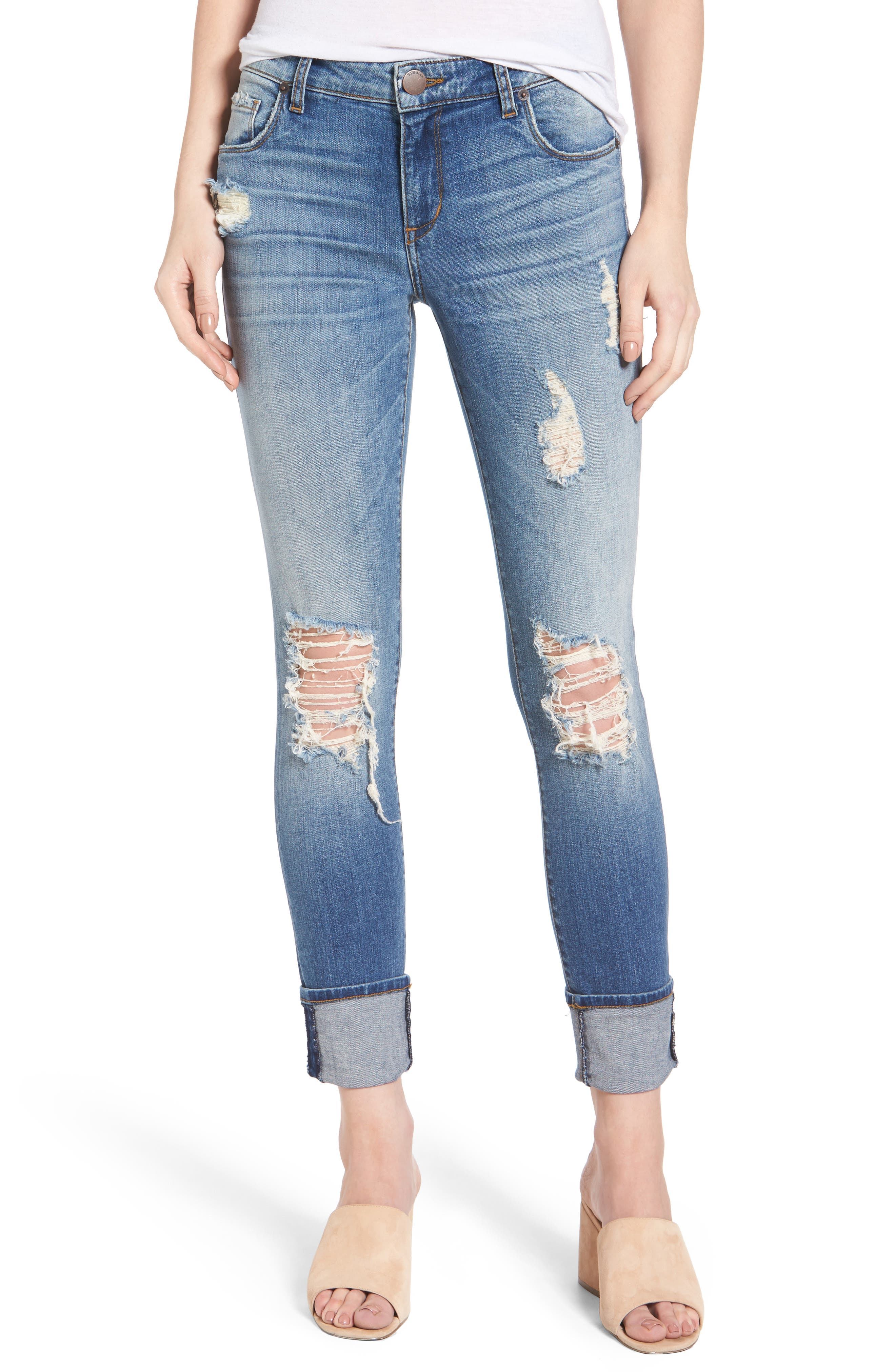 STS Blue Taylor Tomboy Ripped Boyfriend Jeans (Eastgate)