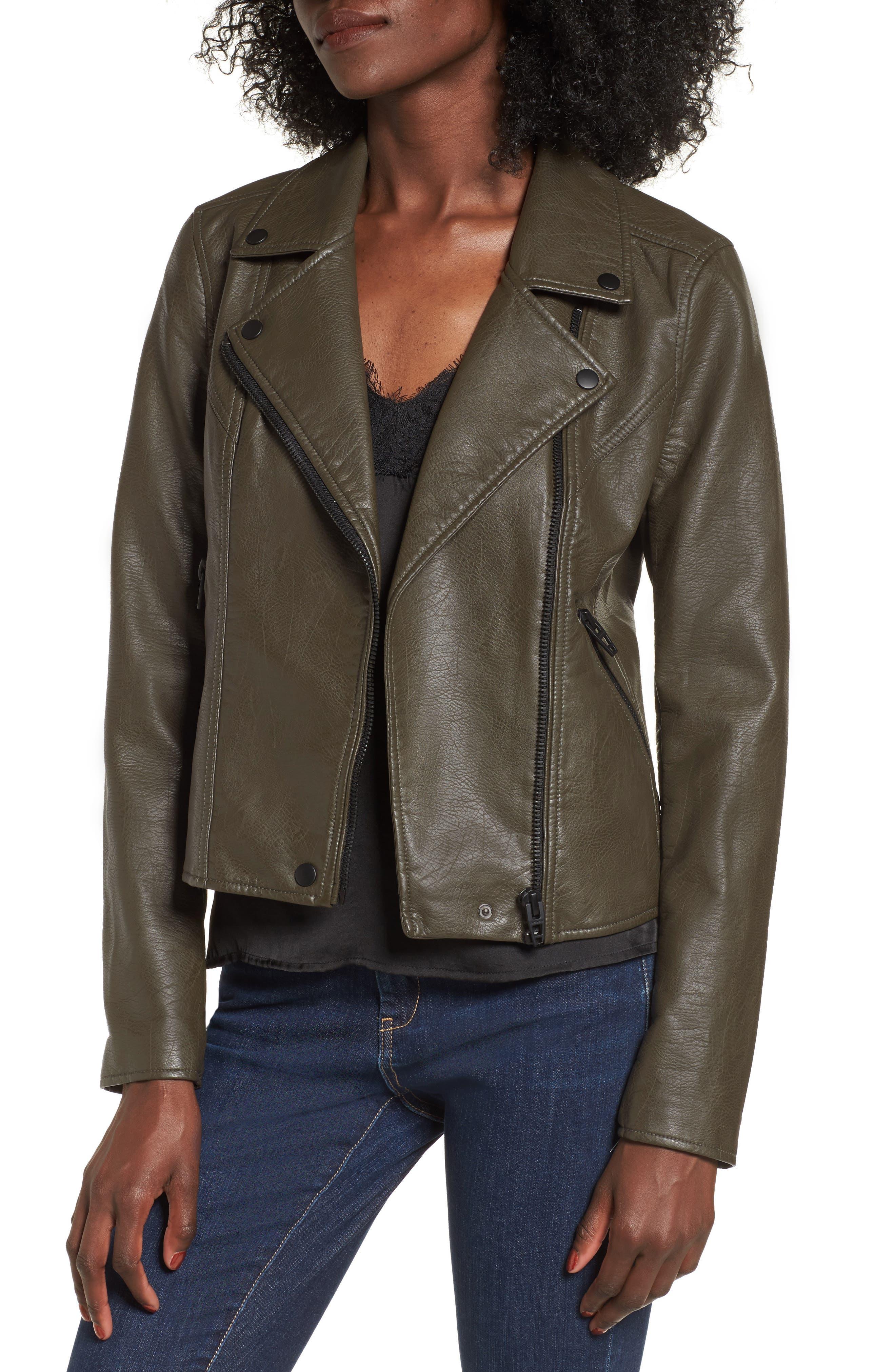 Alternate Image 1 Selected - BLANKNYC Life Changer Moto Jacket