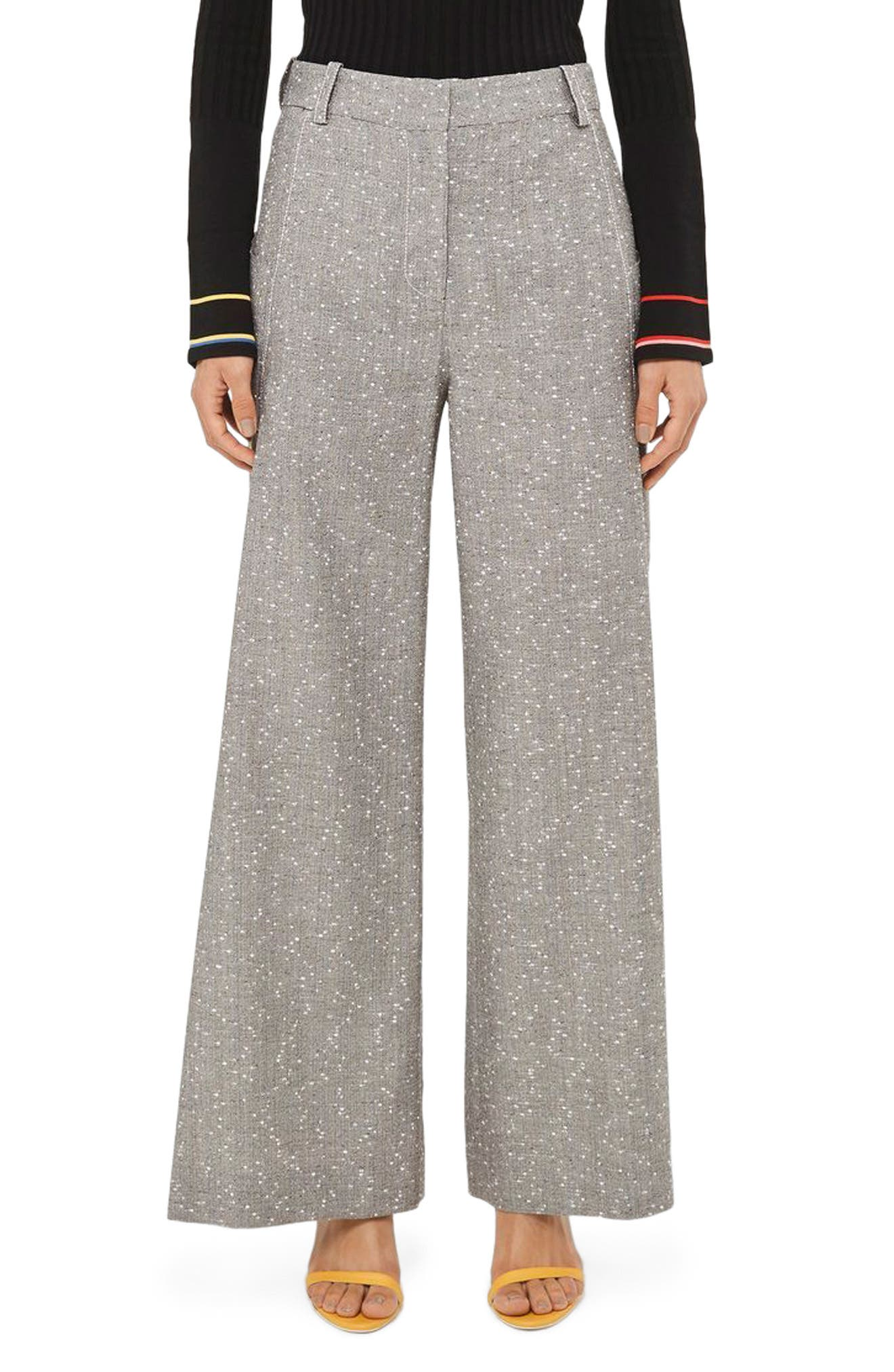 Topshop Unique Wide Leg Trousers