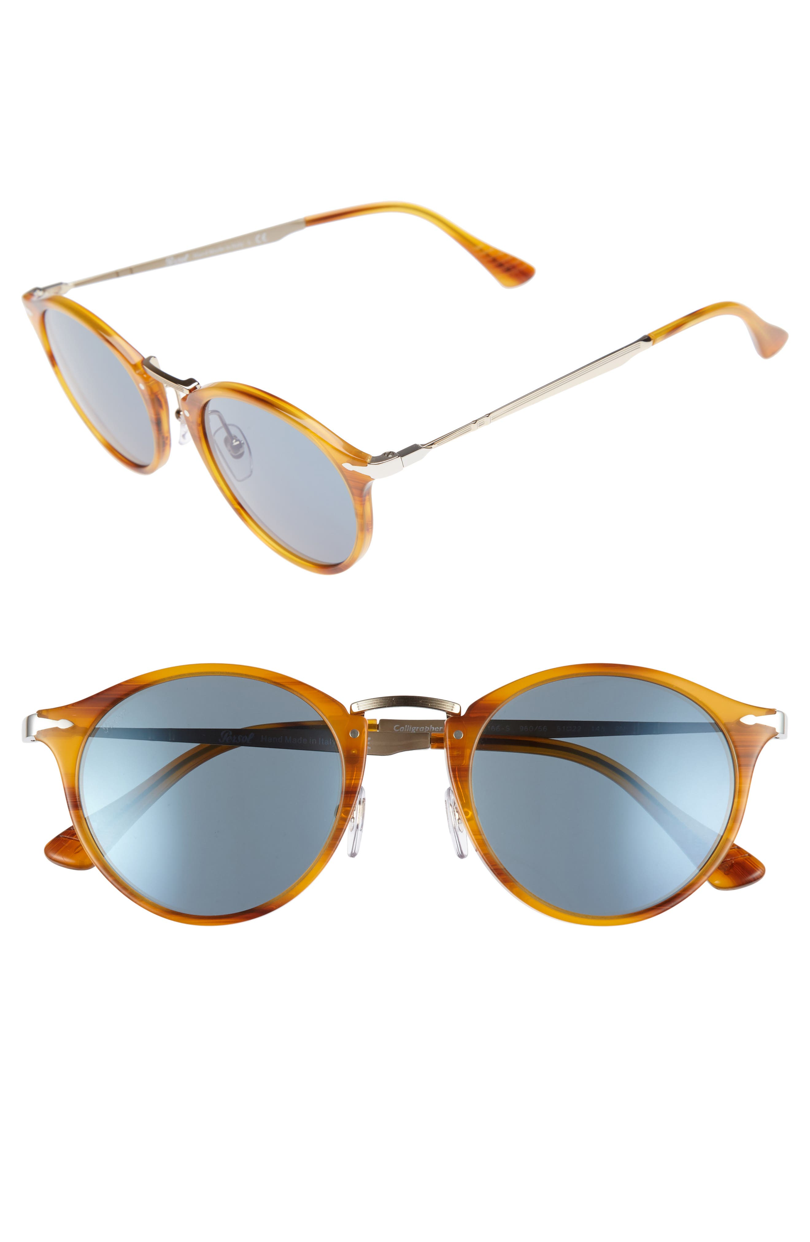 Persol Sartoria Typewriter 51mm Polarized Sunglasses