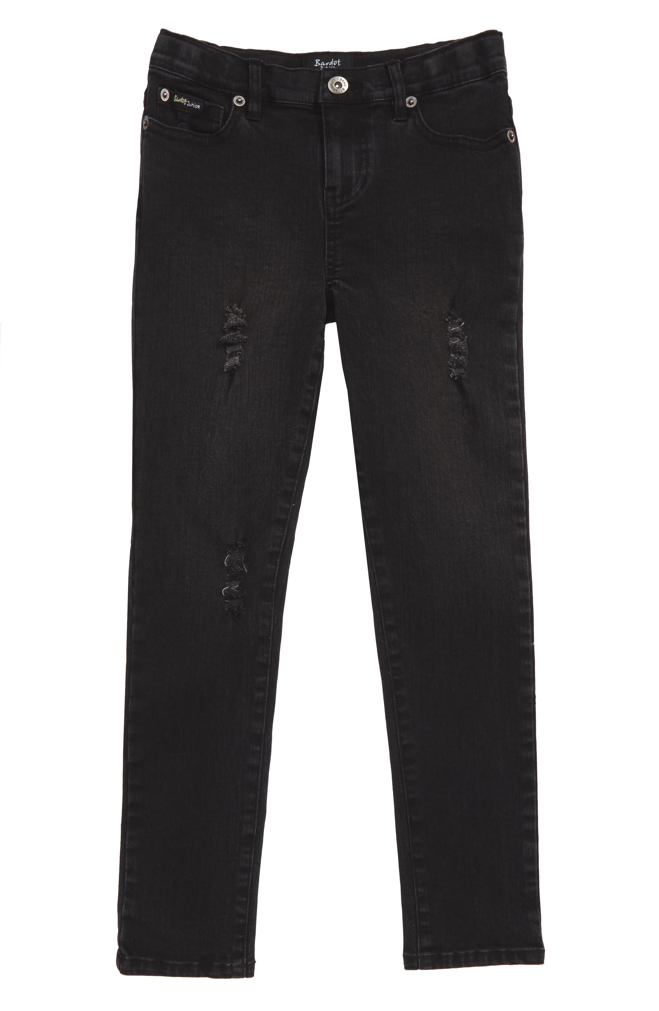 Bardot Junior Axl Distressed Skinny Jeans (Toddler Boys & Little Boys)