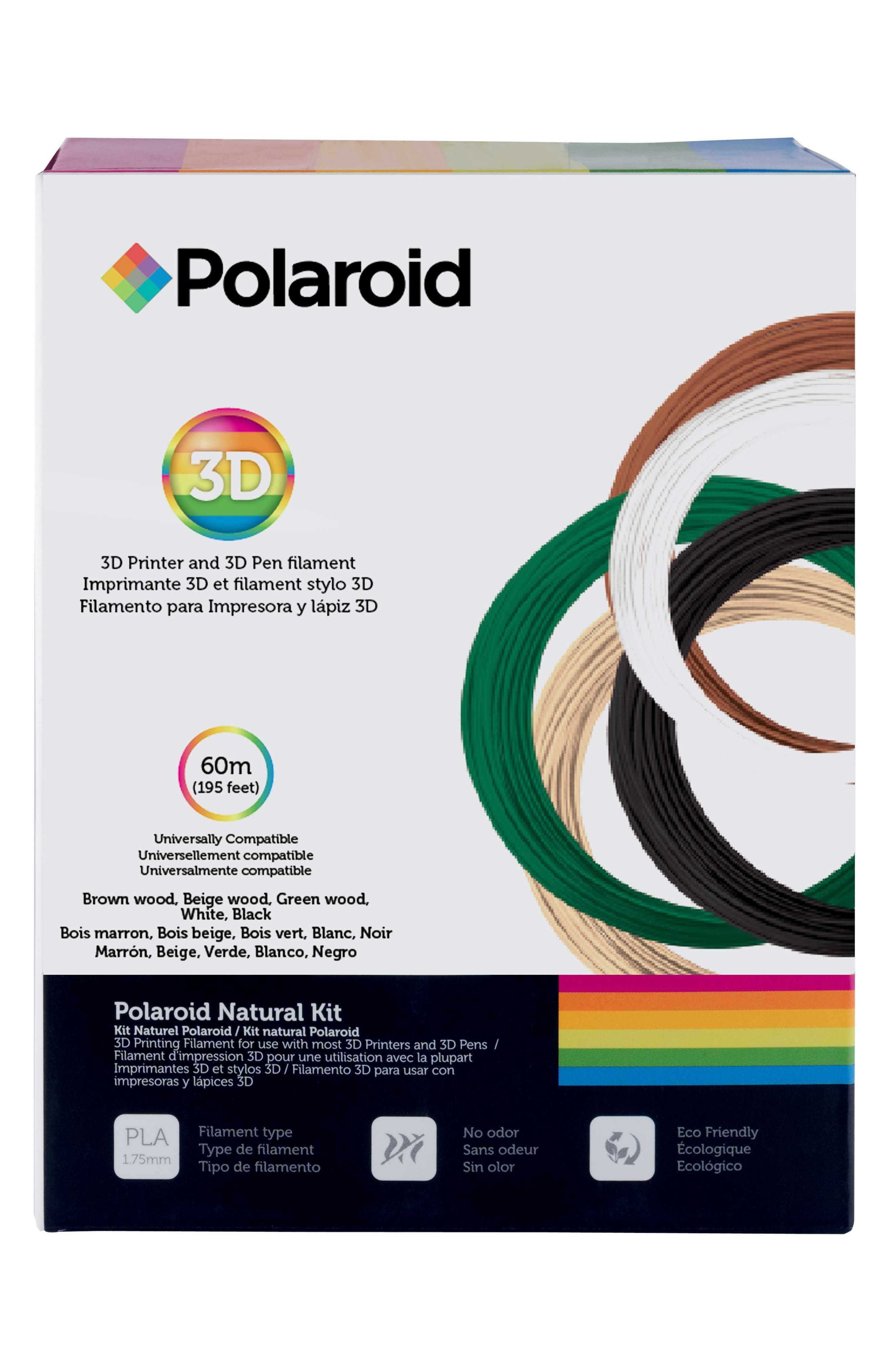 Polaroid 3D Natural Filament Kit