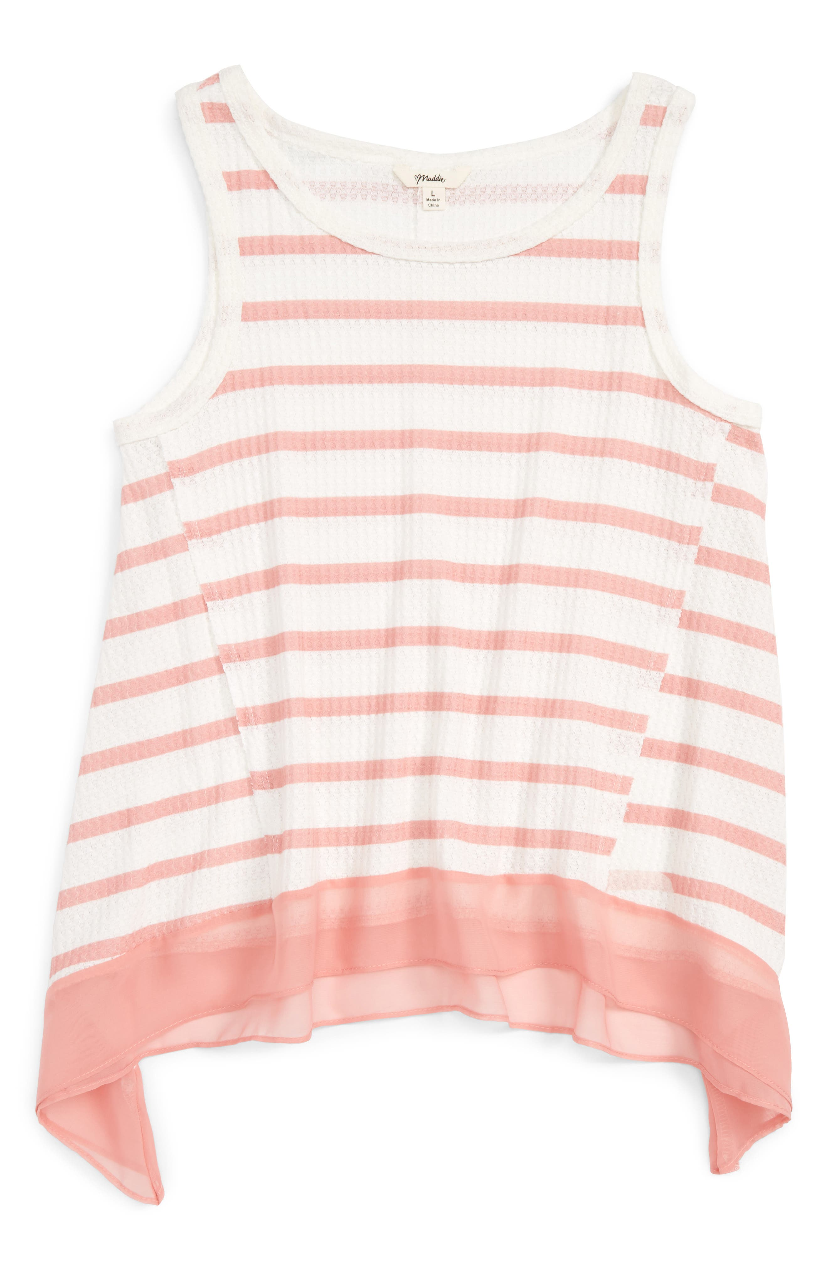 Maddie Stripe Tank (Big Girls)