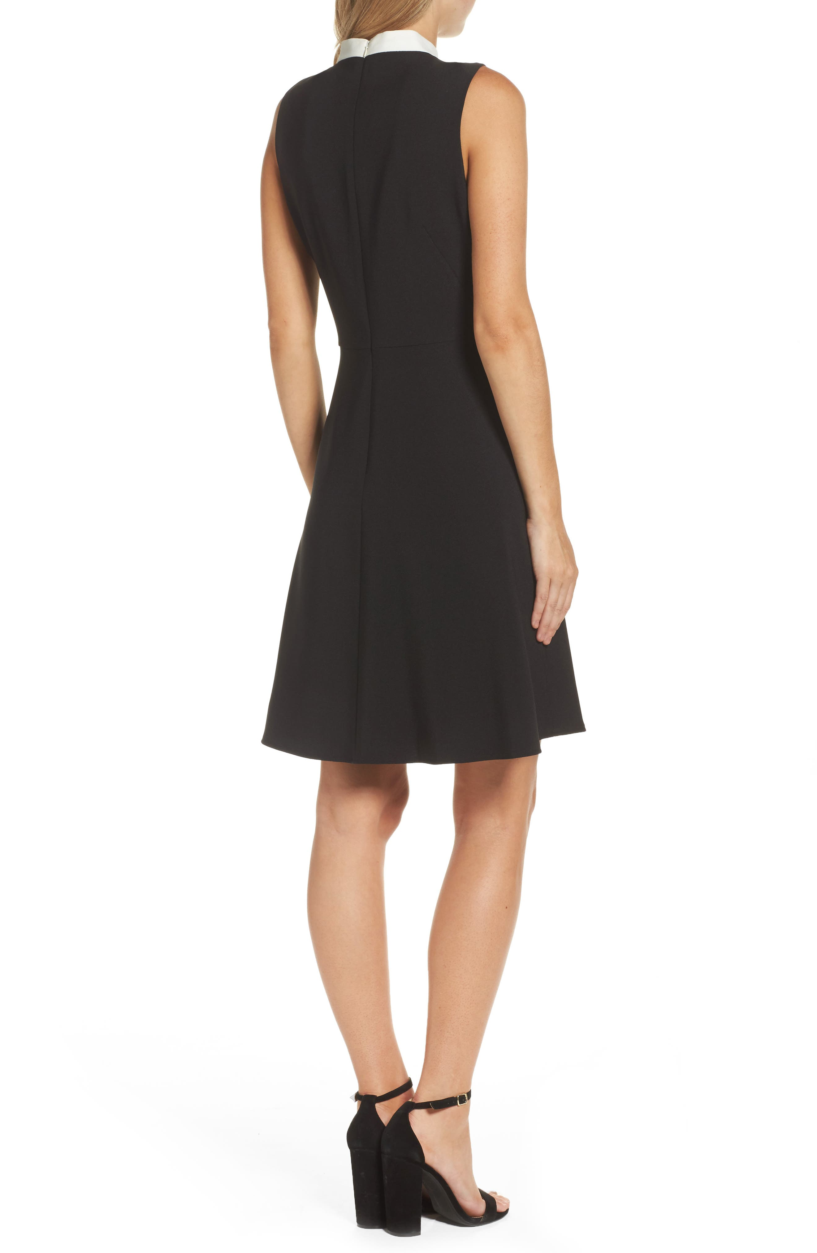 Alternate Image 2  - Maggy London Bow Fit & Flare Dress