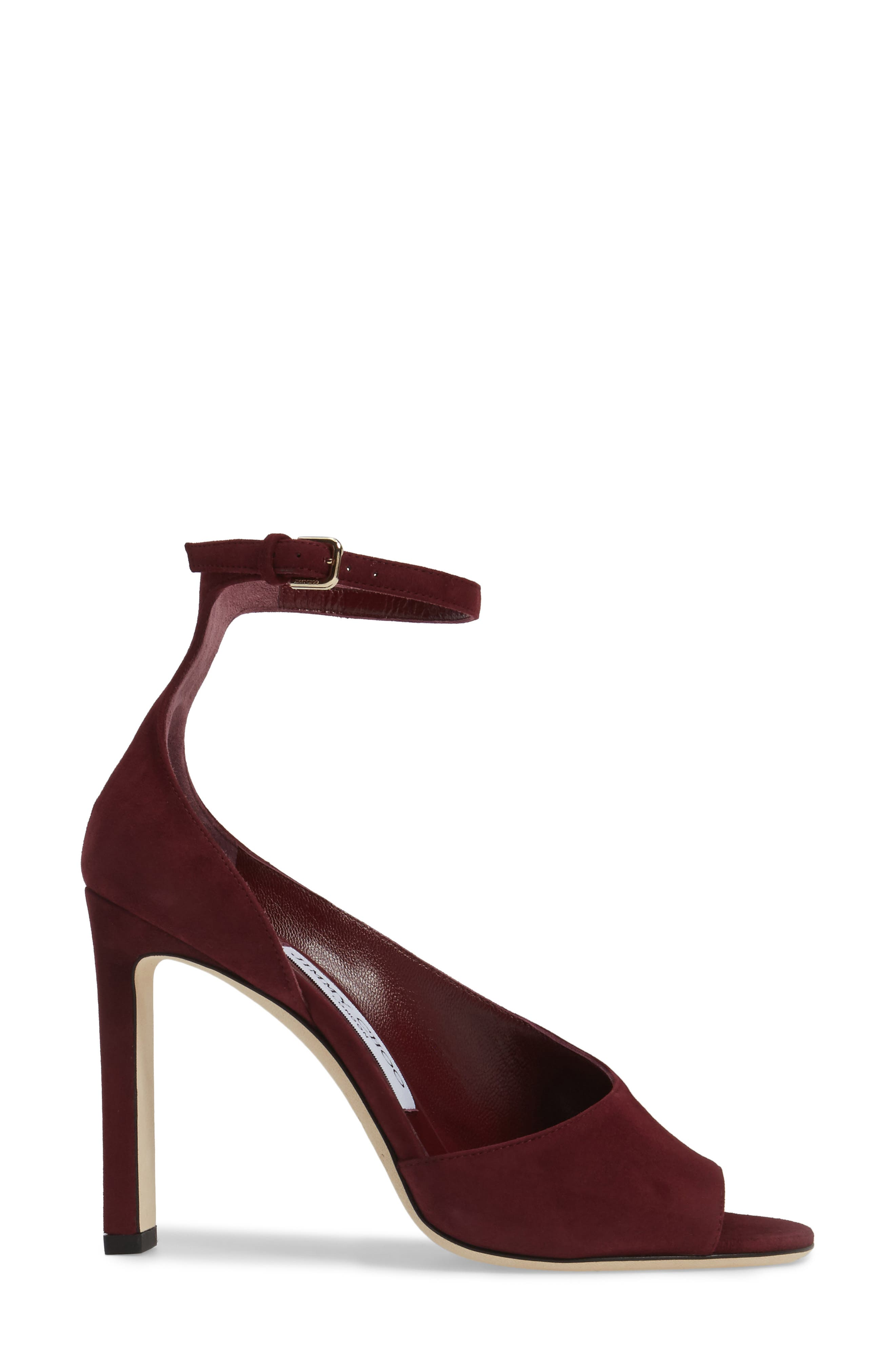 Alternate Image 3  - Jimmy Choo Theresa Ankle Strap Sandal (Women)