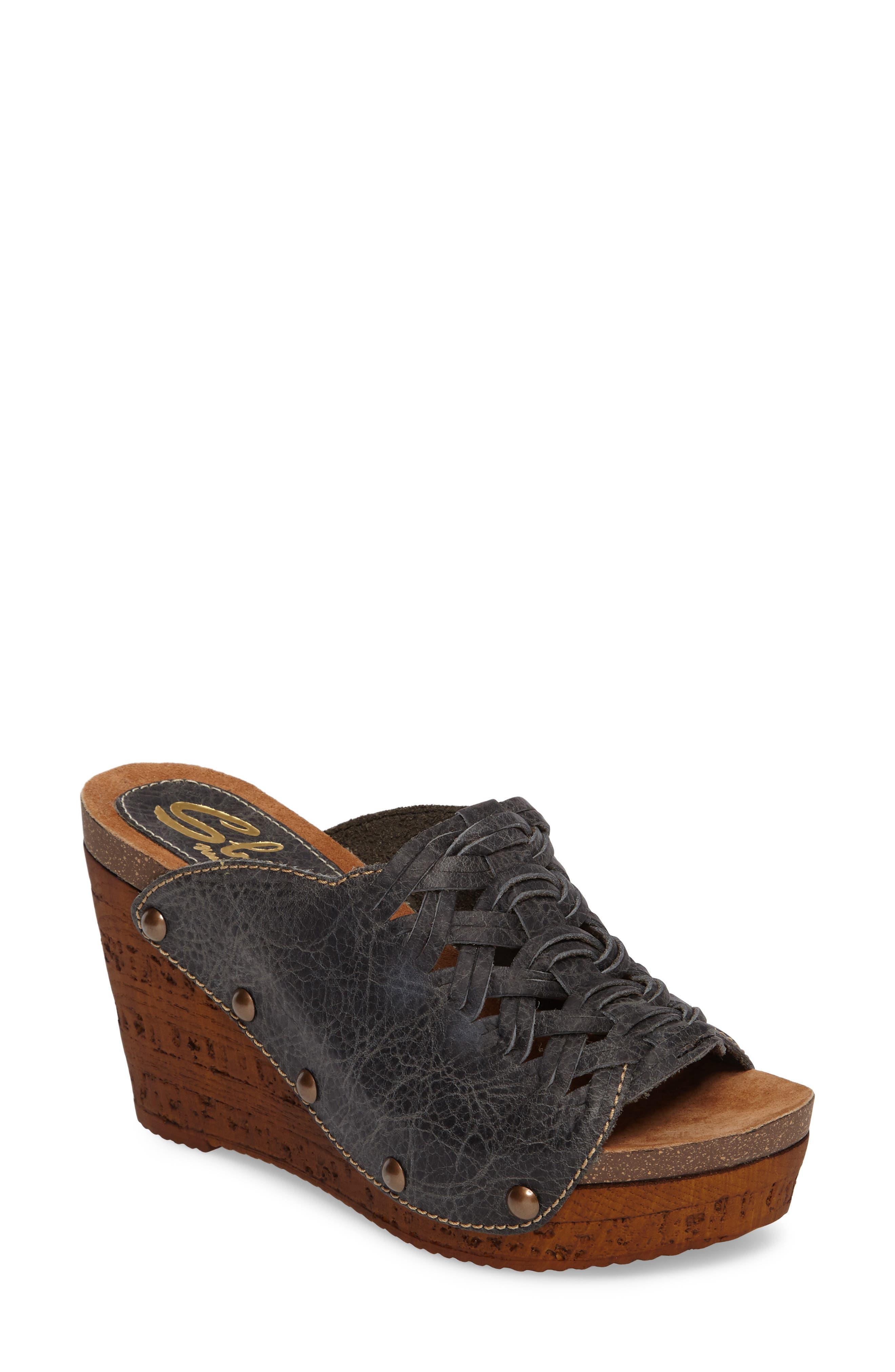 Sbicca Genesis Platform Wedge Sandal (Women)